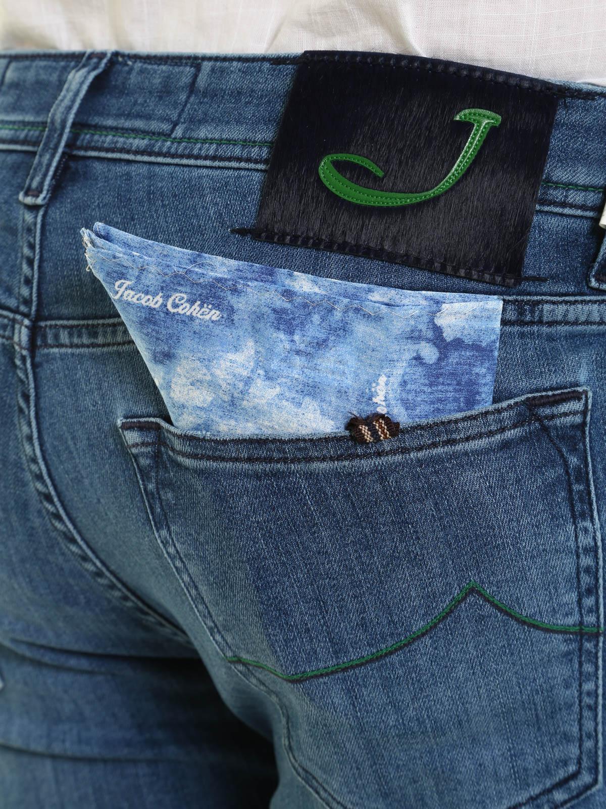 5bb44254a36 Cohen Jeans Foncé Pour Jacob Homme Jean Skinny Délavé g6Yybf7