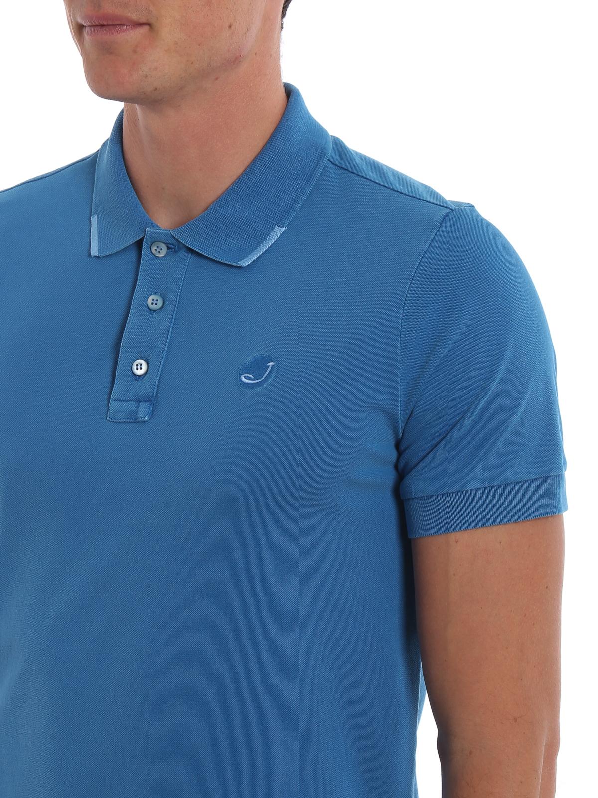 new concept d3682 ccec3 Jacob Cohen - Poloshirt - Blau - Poloshirts - J403700188807 ...