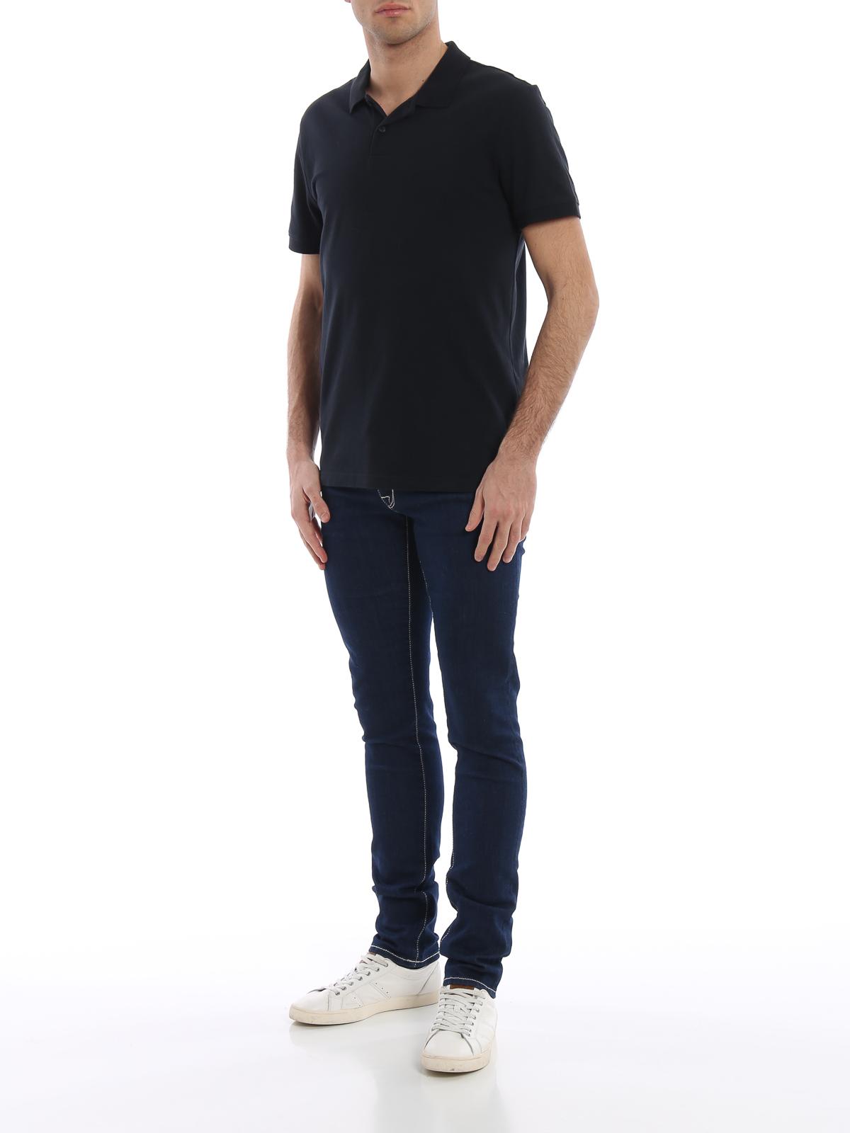 jacob cohen straight leg jeans dunkelblau straight. Black Bedroom Furniture Sets. Home Design Ideas