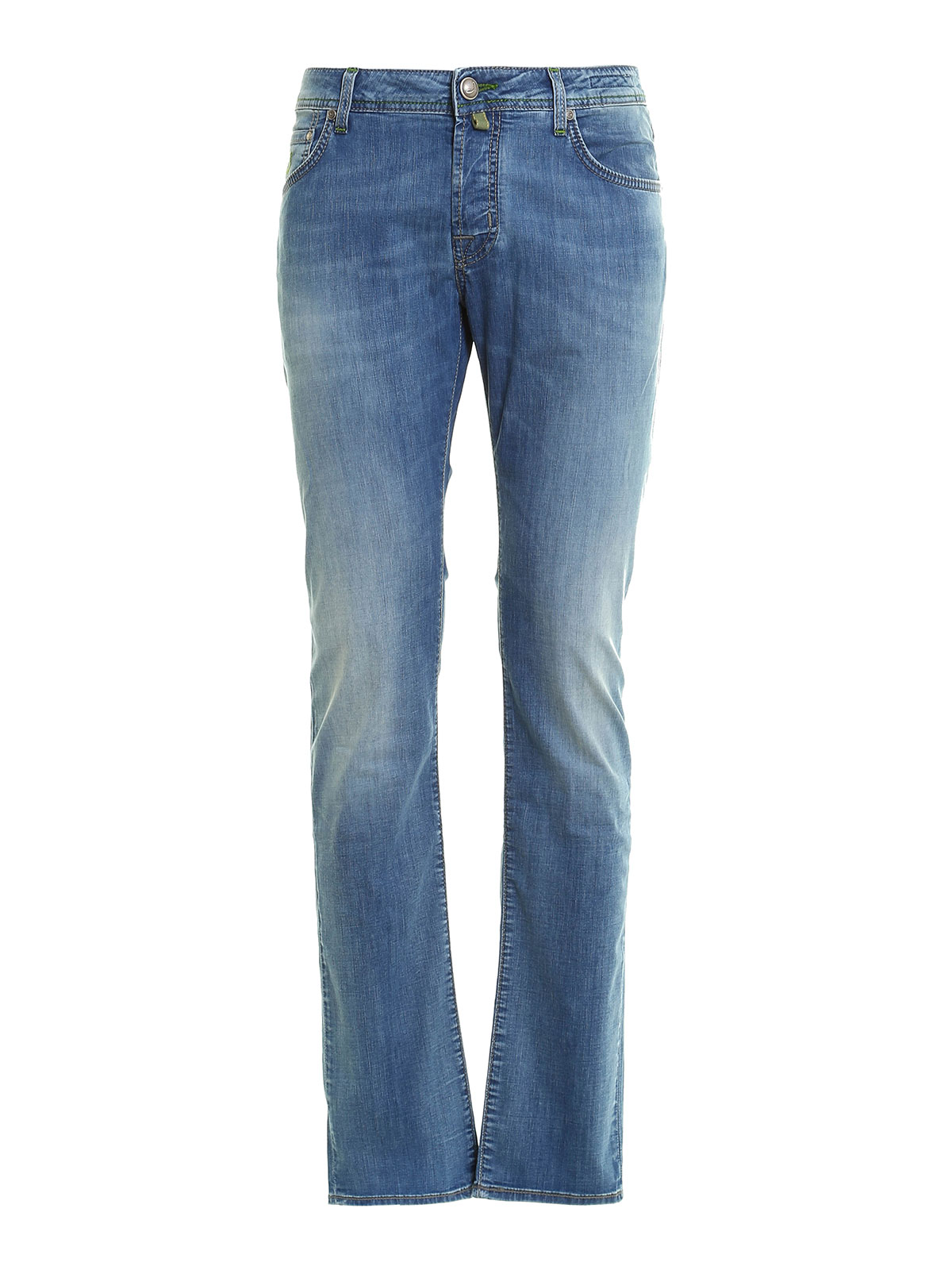 622 washed jeans by jacob cohen straight leg jeans ikrix - Jacob cohen denim ...