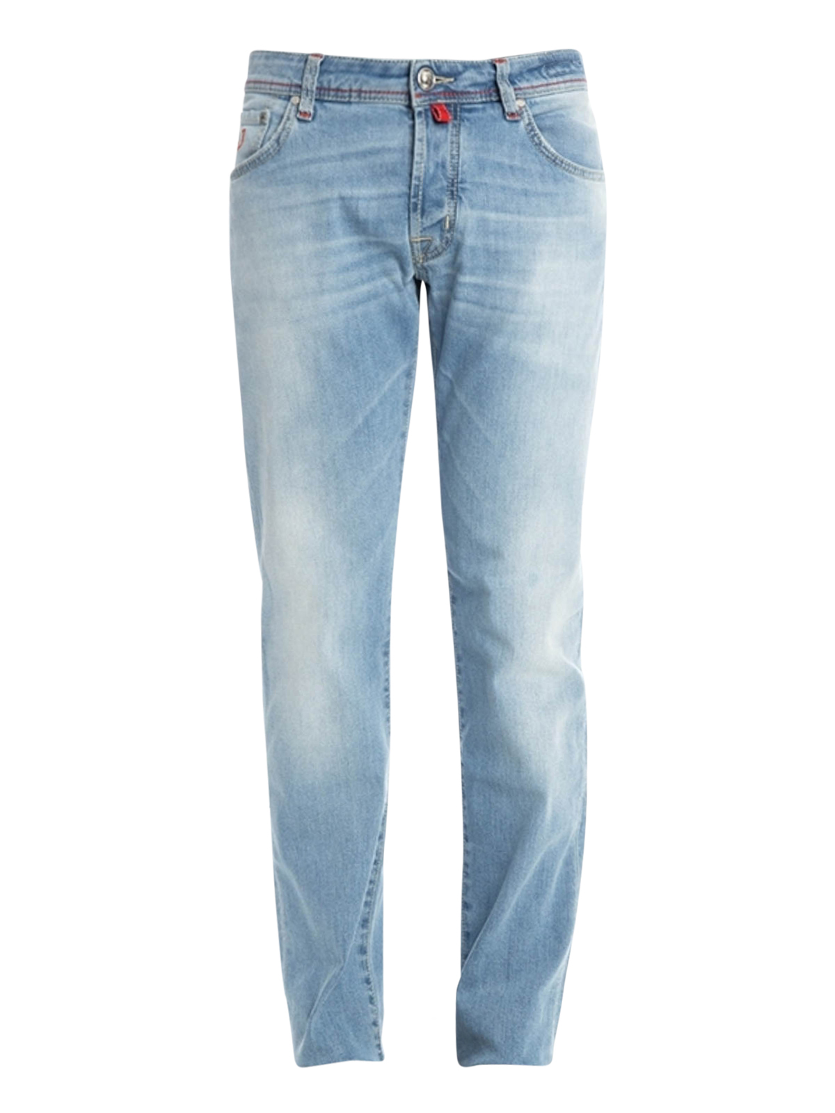 Contrasting stitching cotton jeans by jacob cohen - Jacob cohen denim ...
