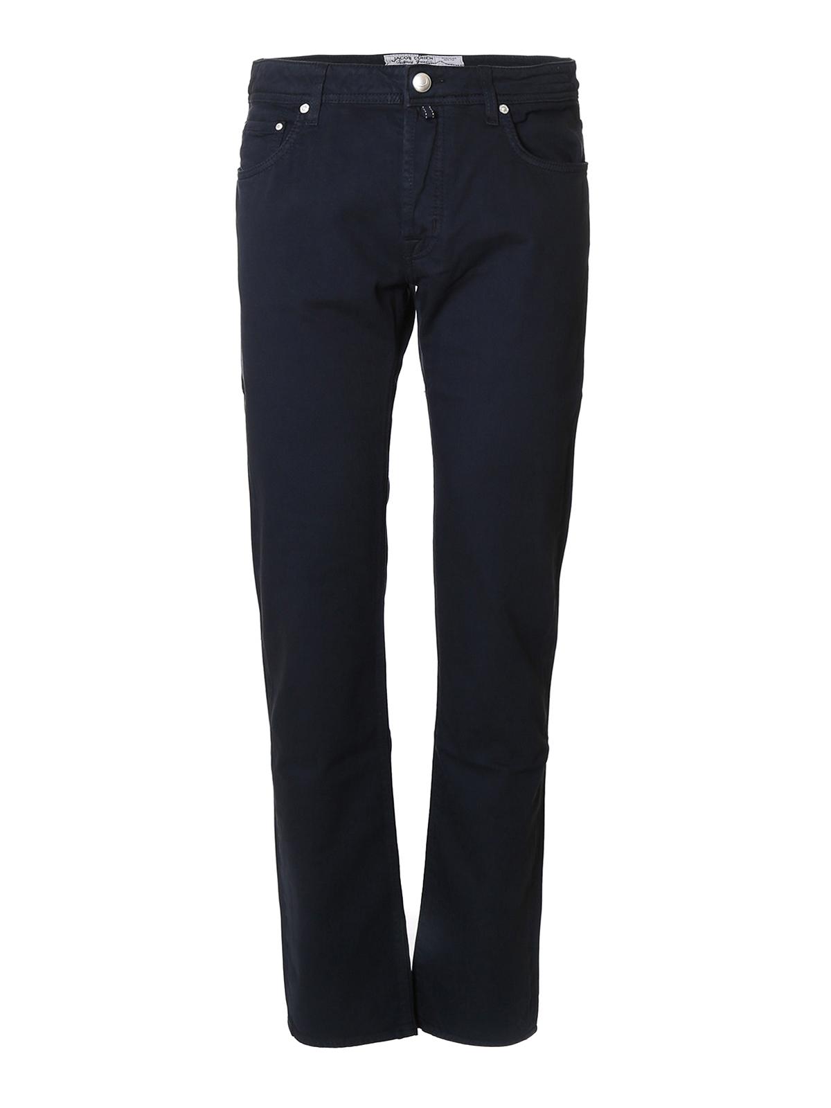 Denim tailored jeans by jacob cohen straight leg jeans - Jacob cohen denim ...