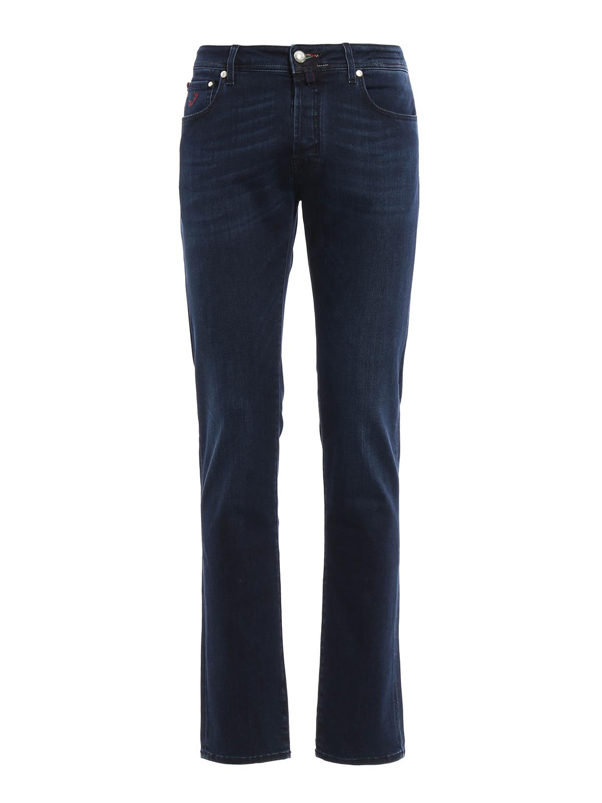 Italian flag denim jeans by jacob cohen straight leg - Jacob cohen denim ...