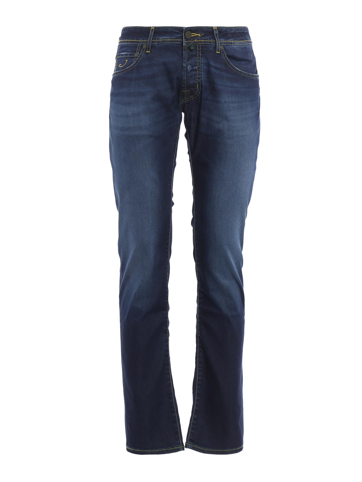J622 camouflage print denim jeans by jacob cohen - Jacob cohen denim ...
