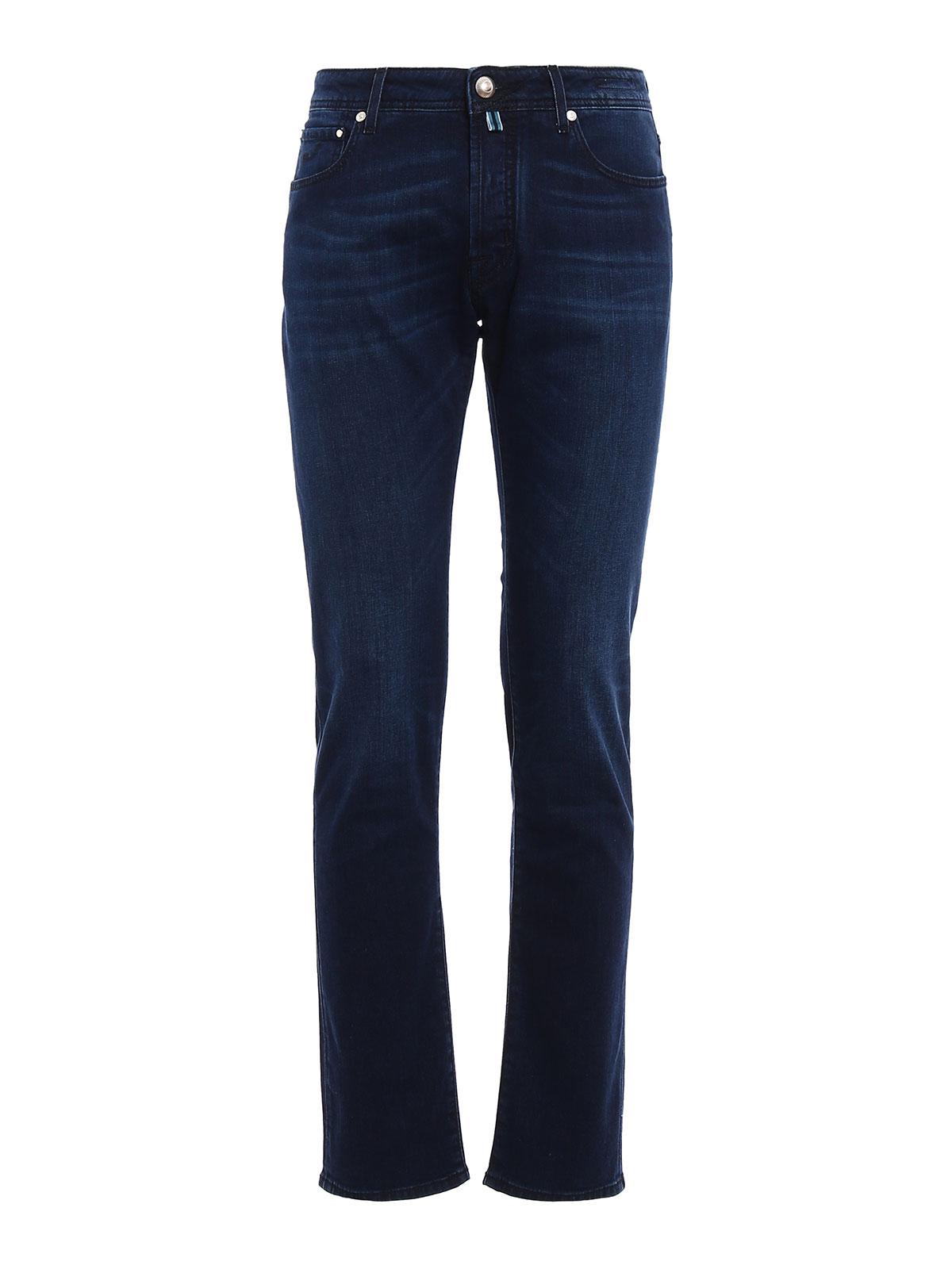 Jet set tailored jeans by jacob cohen straight leg jeans - Jacob cohen denim ...