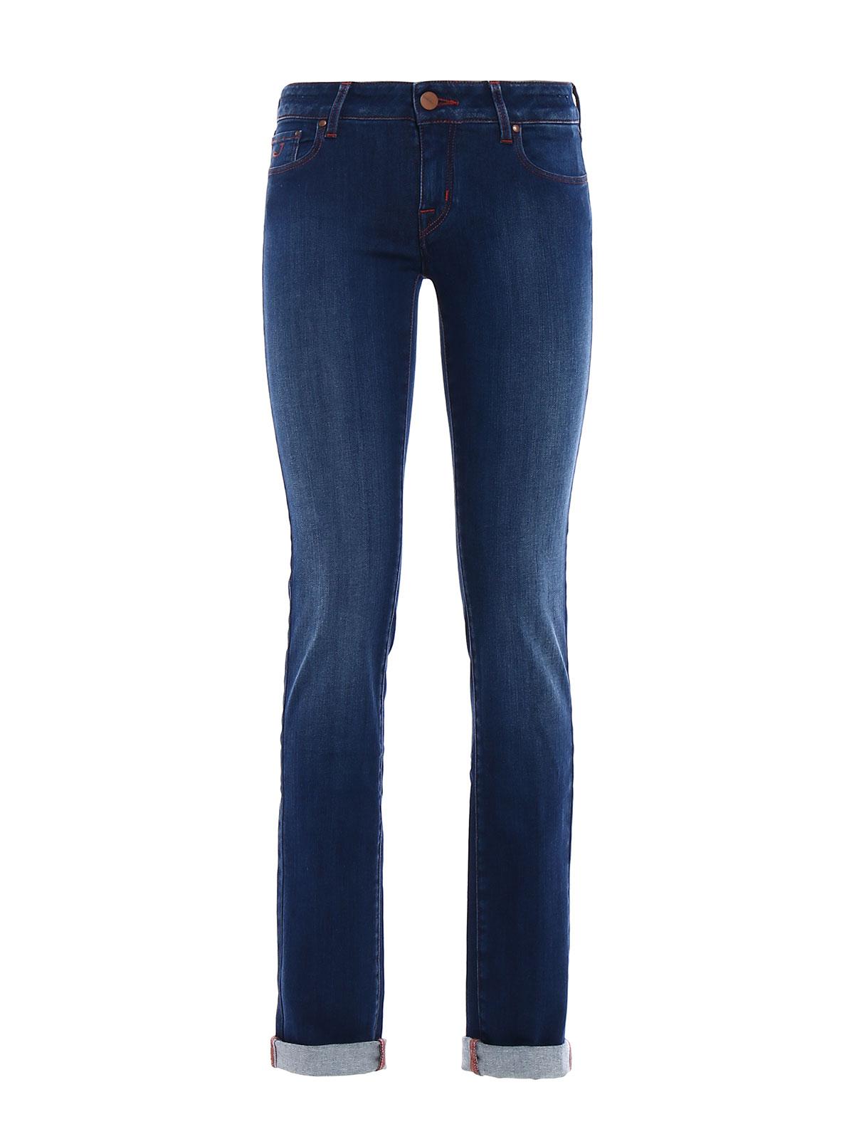Jocelyn jeans by jacob cohen straight leg jeans ikrix - Jacob cohen denim ...