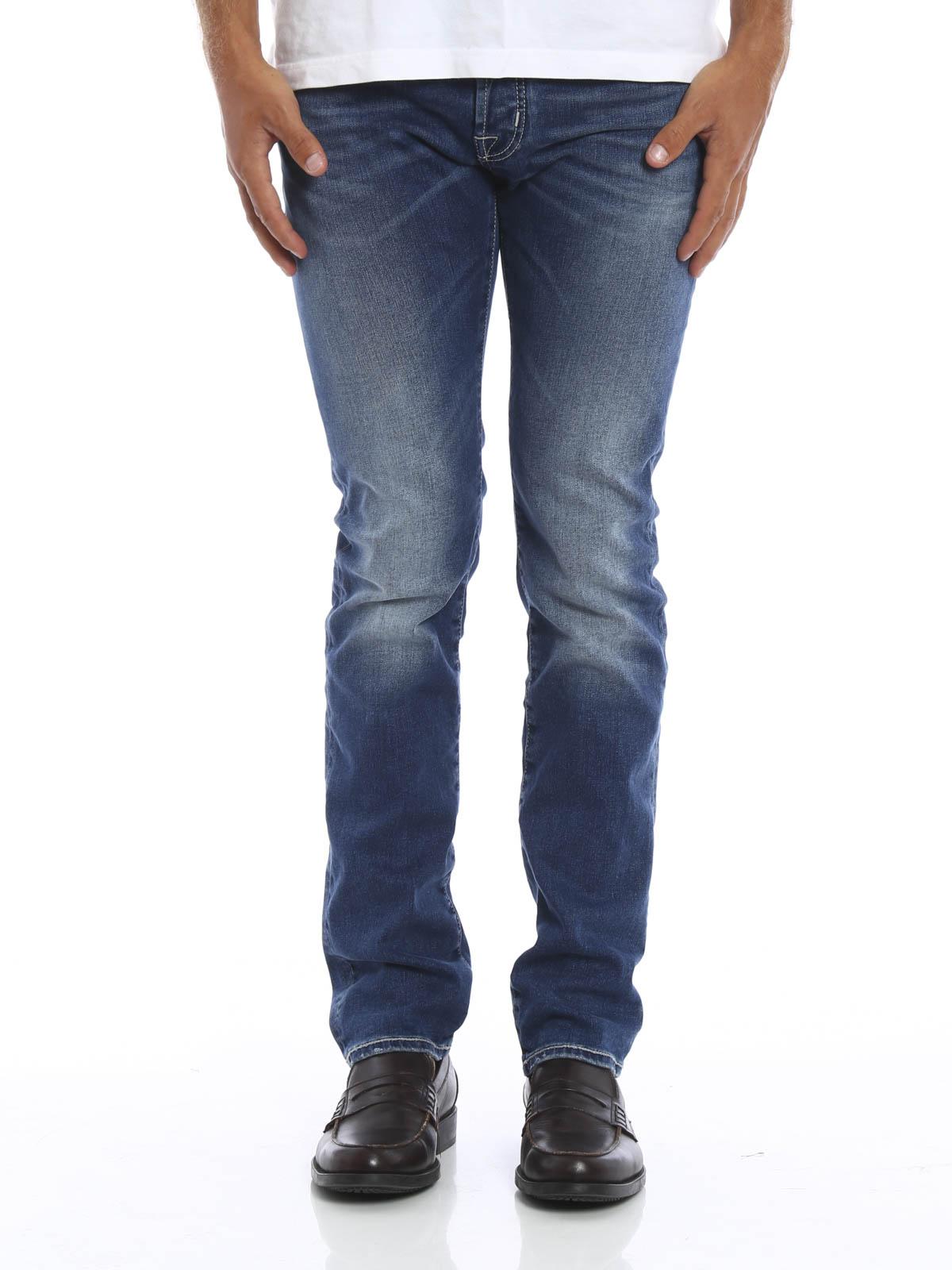 Pw622 comf jeans by jacob cohen straight leg jeans ikrix - Jacob cohen denim ...