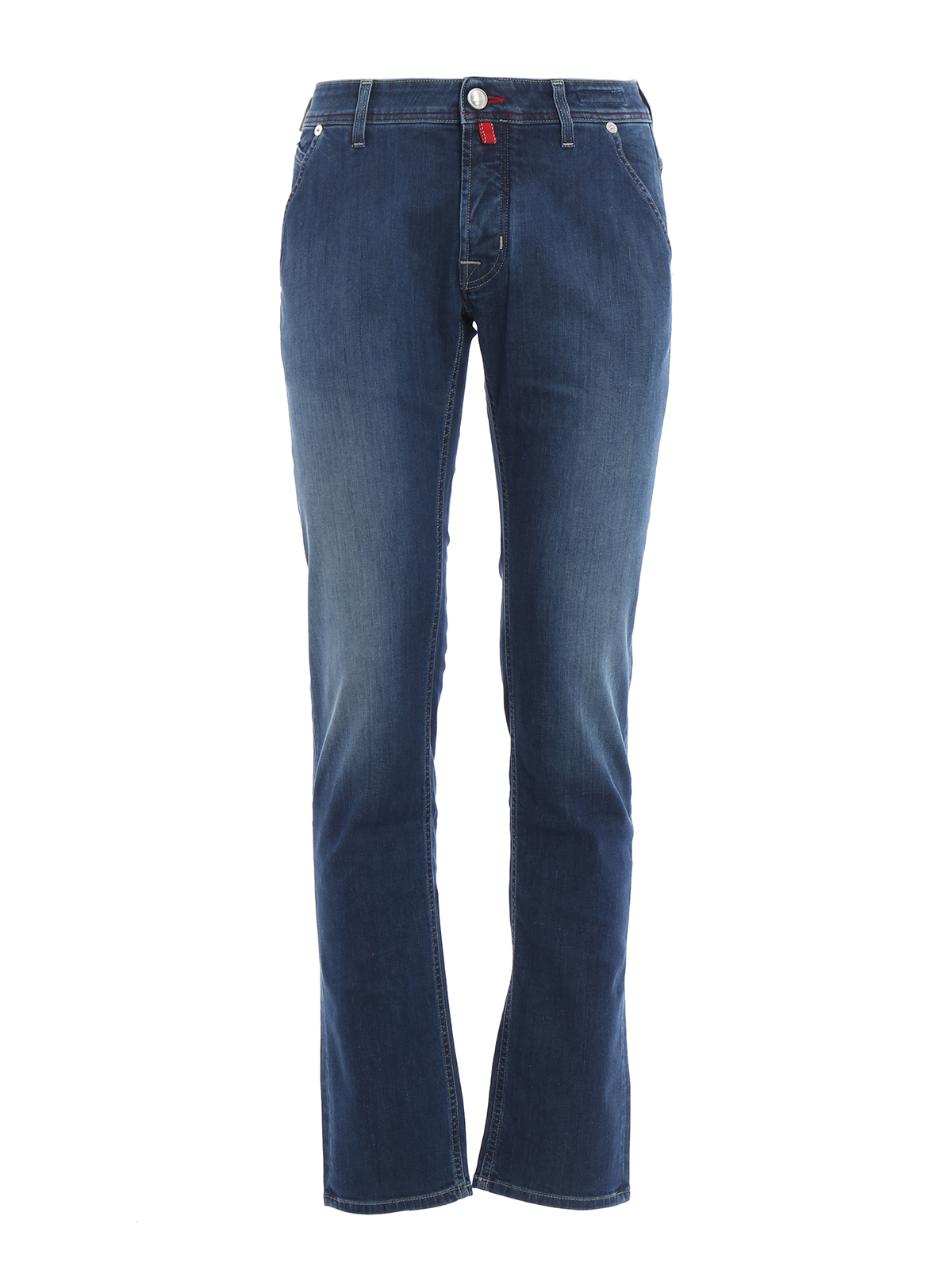 Pw613 comfortable faded jeans by jacob cohen straight - Jacob cohen denim ...