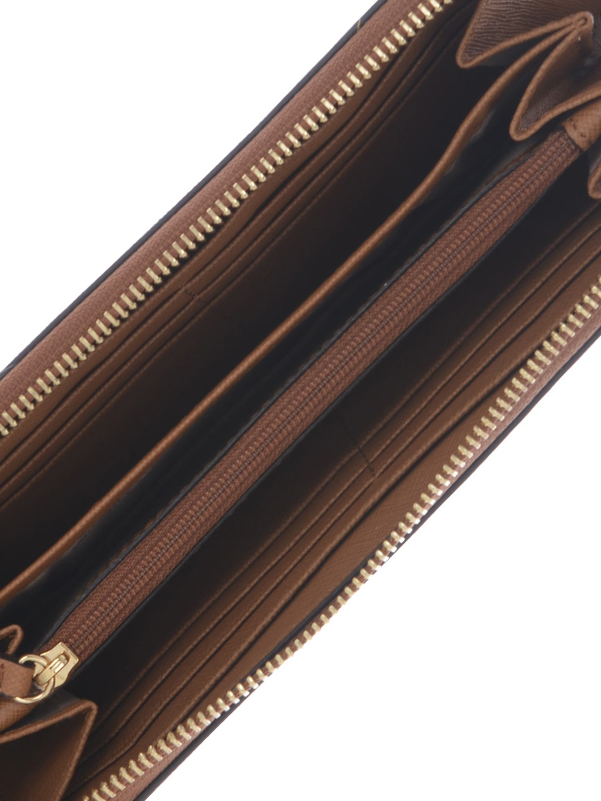 e9746dc0d81675 Michael Kors - Jet Set continental brown wallet - wallets & purses ...