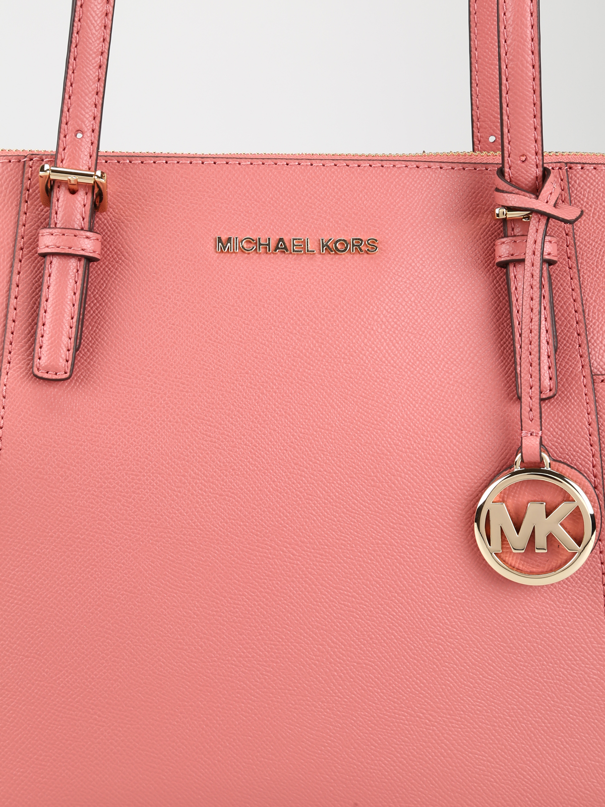 96e2a74080102f Michael Kors - Jet Set top zip rose leather tote - totes bags ...