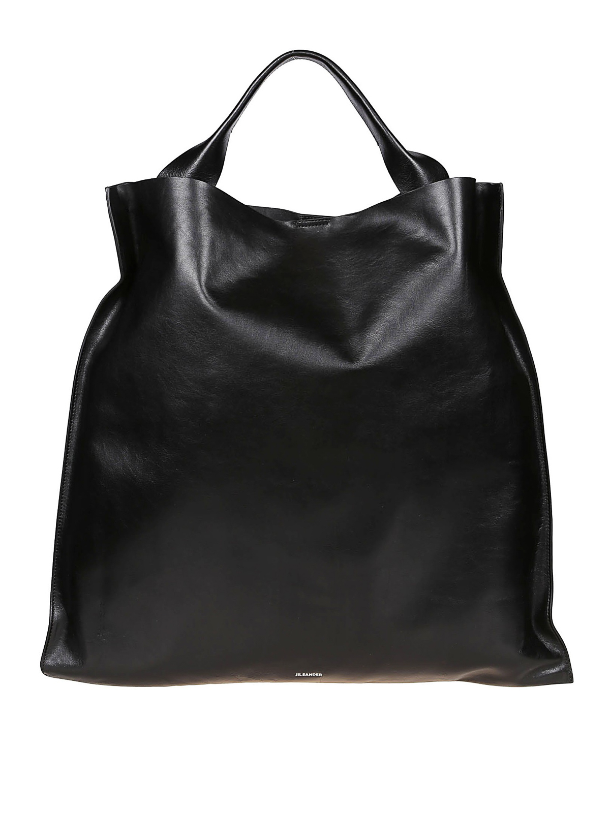 Jil Sander Tops XIAO BLACK MEDIUM SHOPPING BAG