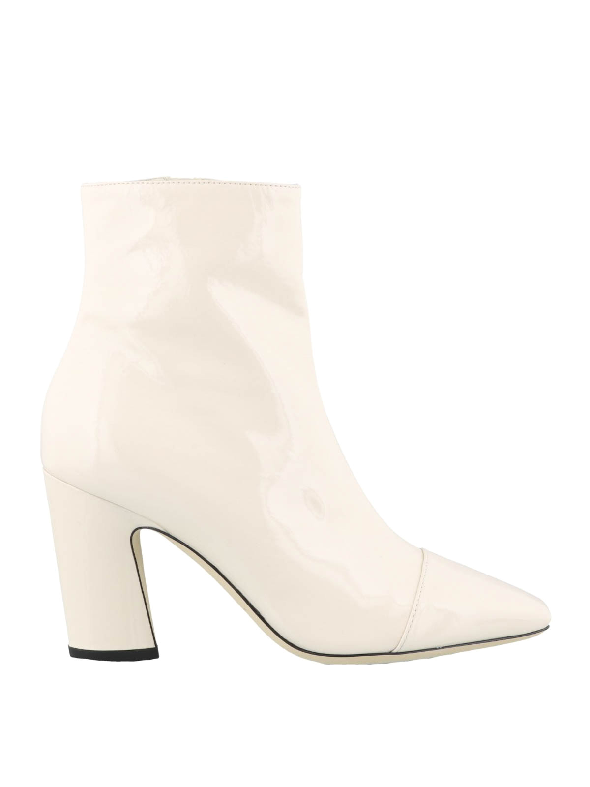 patent leather booties - ankle boots