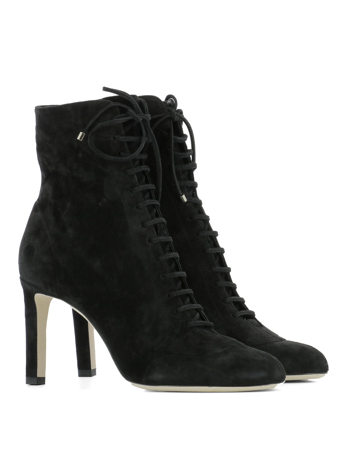Daize Lace Up Suede Booties By Jimmy Choo Ankle Boots
