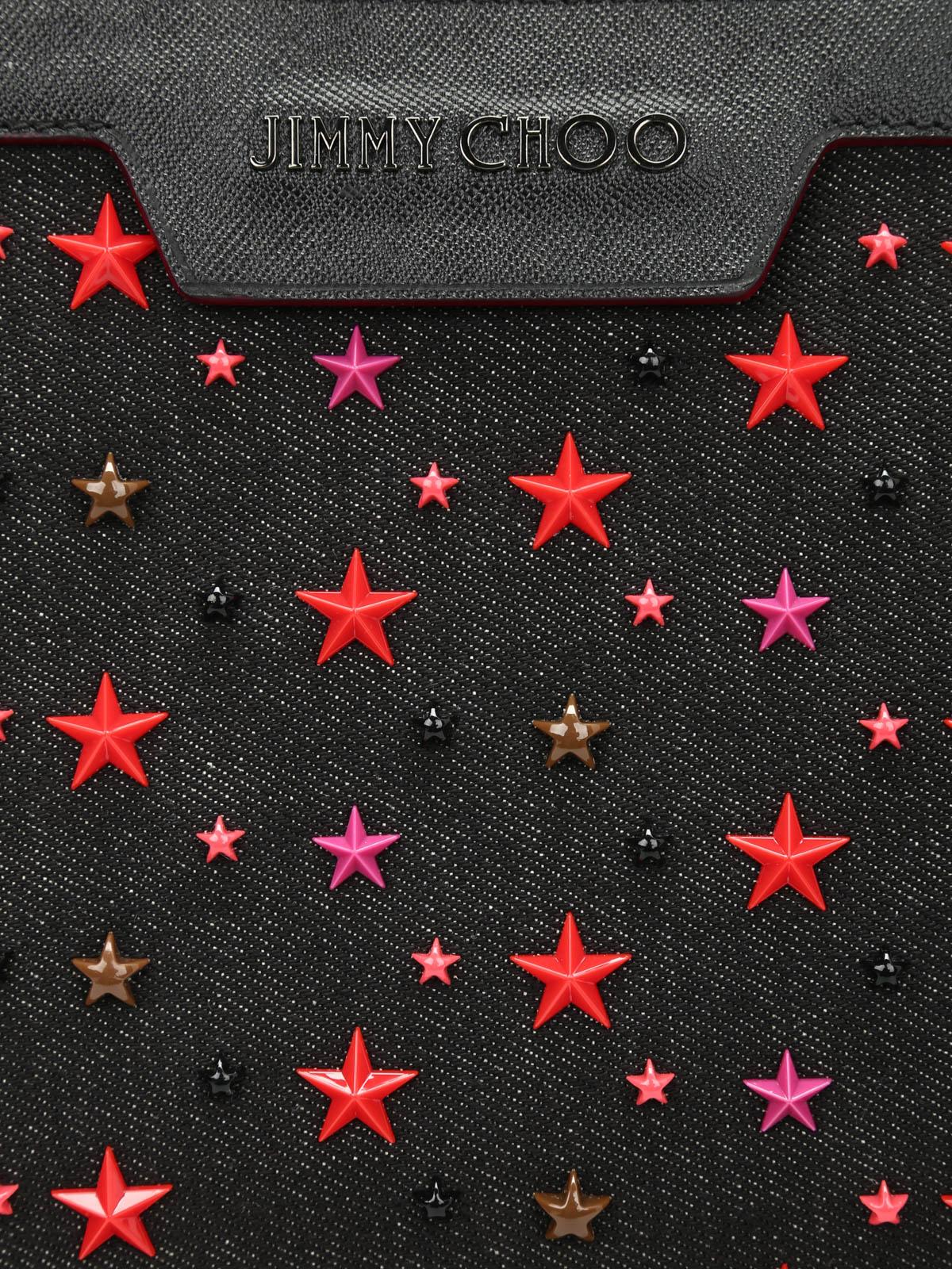 f8bc0b9fe63f Jimmy Choo - Derek multi star big pouch - laptop bags   briefcases ...