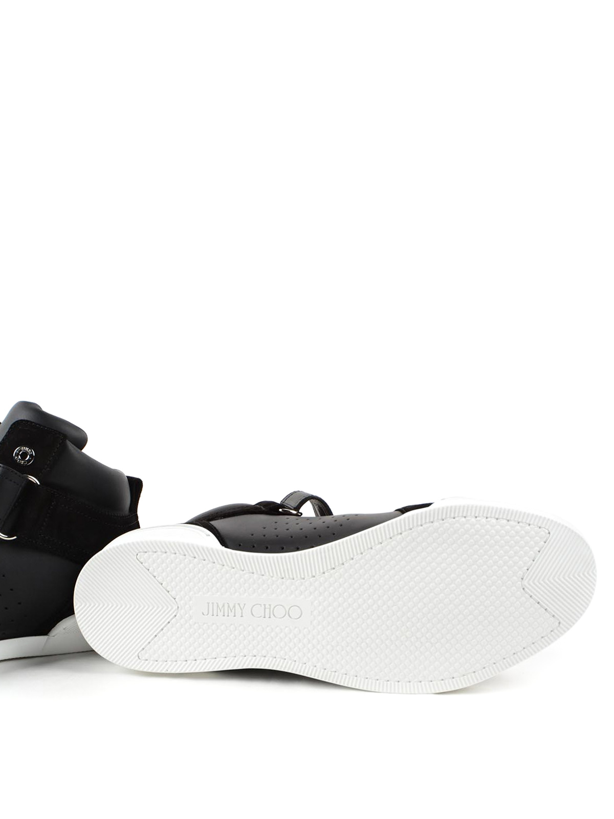 d5f1419286 Jimmy Choo - Lewis high top sneakers - trainers - LEWIS OCU BLACK/BLACK