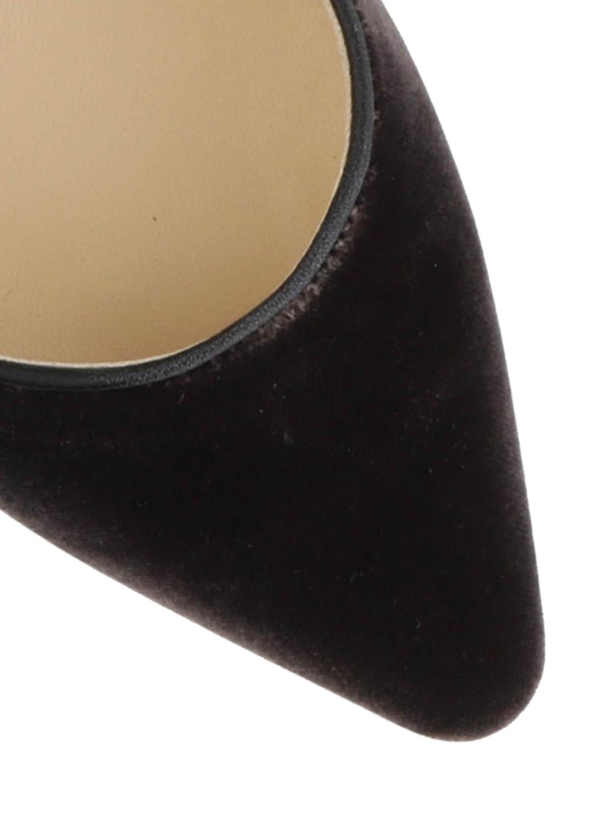 94327d537d45 JIMMY CHOO buy online Romy black velvet pumps · JIMMY CHOO  court shoes ...