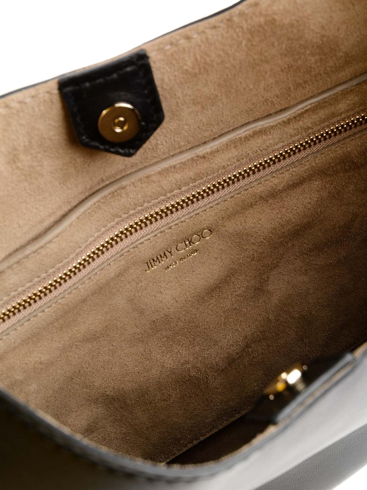 d40d433c4cb0 Jimmy Choo - Stevie nappa leather hobo bag - shoulder bags - STEVIE ...