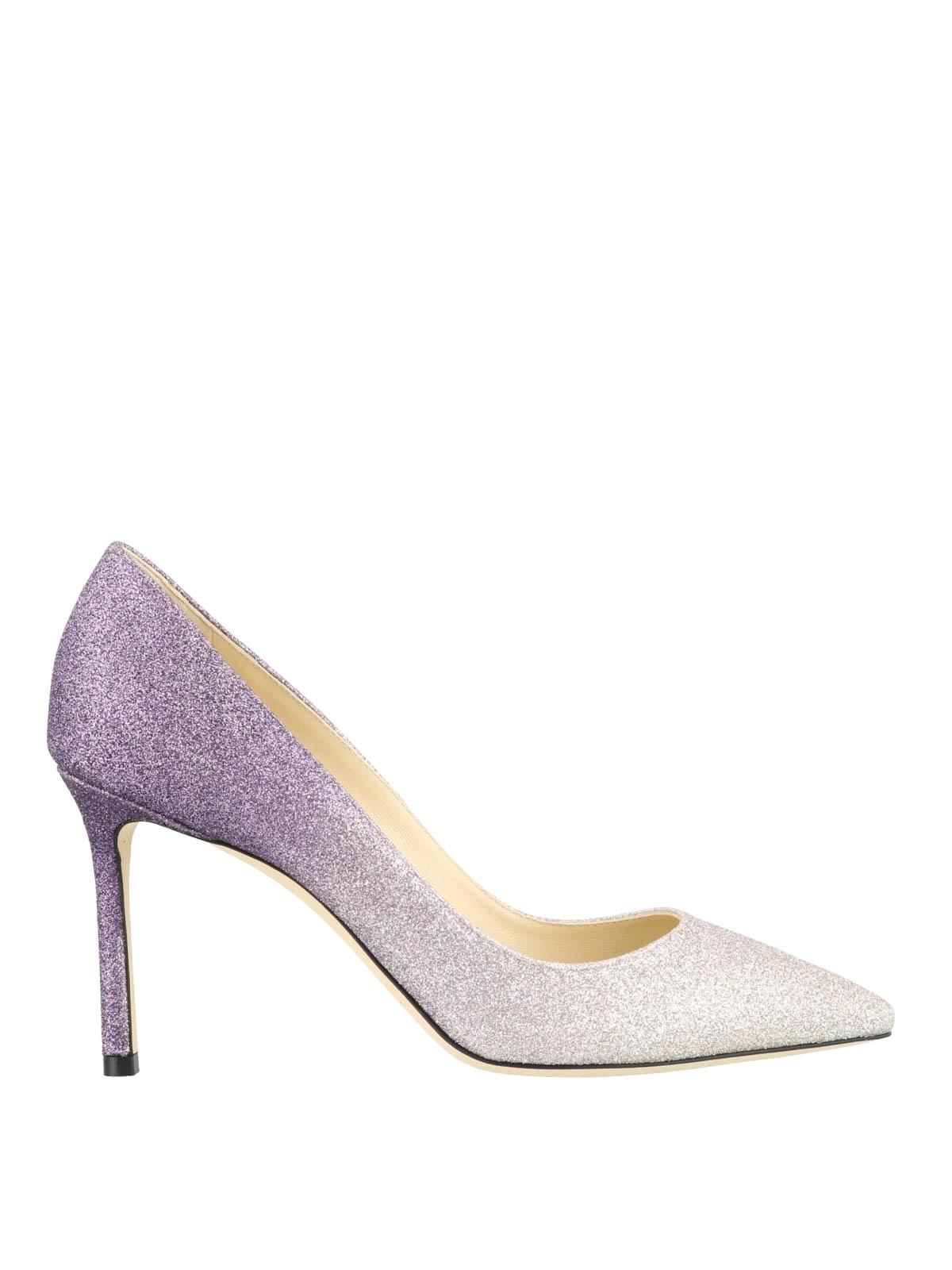 831145f0da69 Jimmy Choo - Romy 85 degrade dusty glitter pumps - court shoes ...