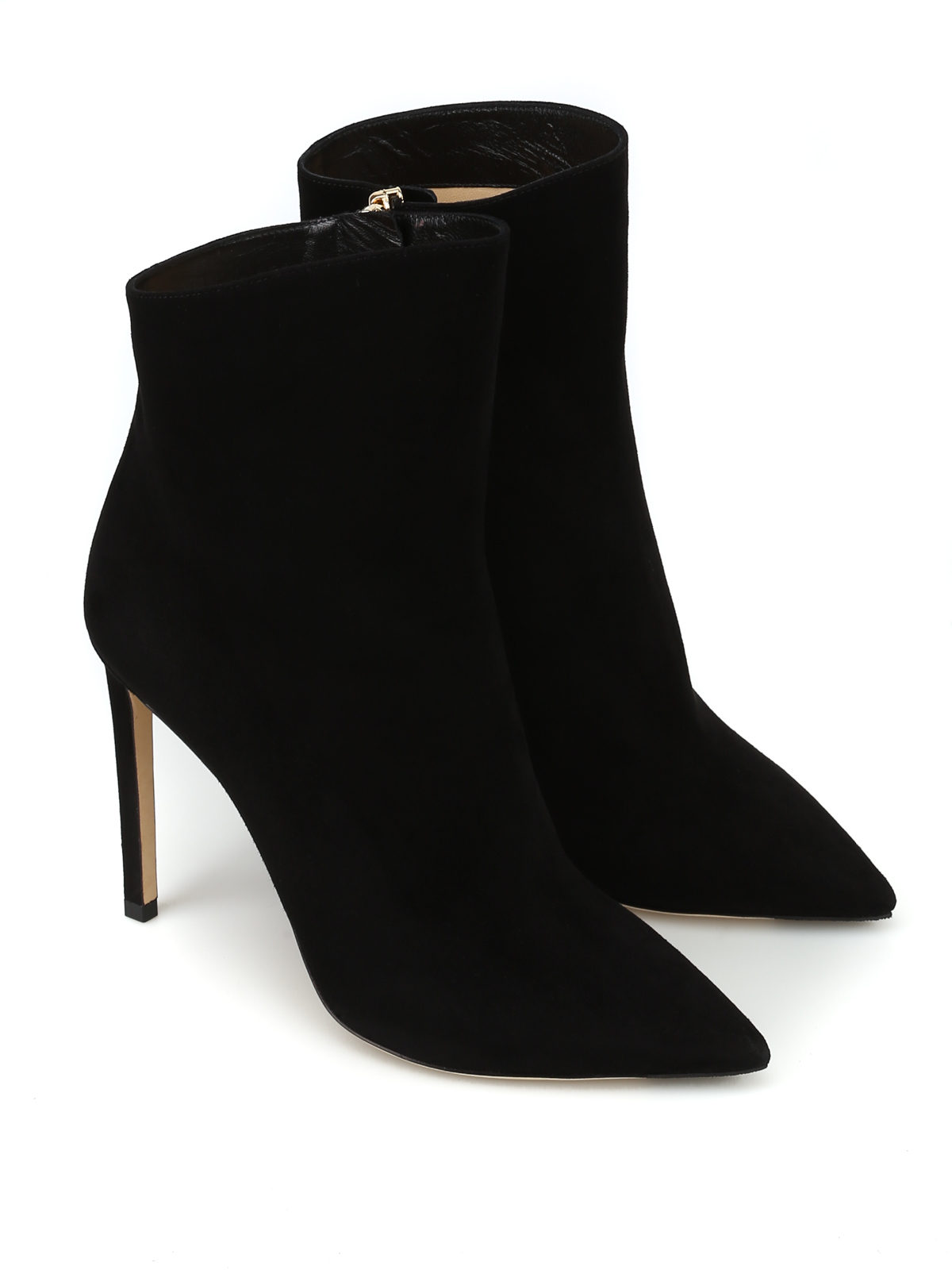 e6854cc925f7 JIMMY CHOO  ankle boots online - Helaine 100 black suede heeled booties