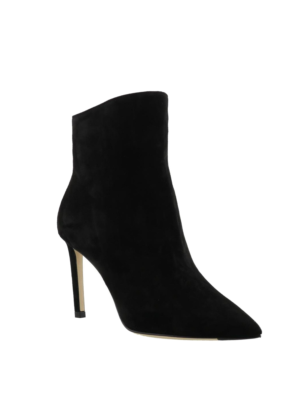 suede heeled booties - ankle boots