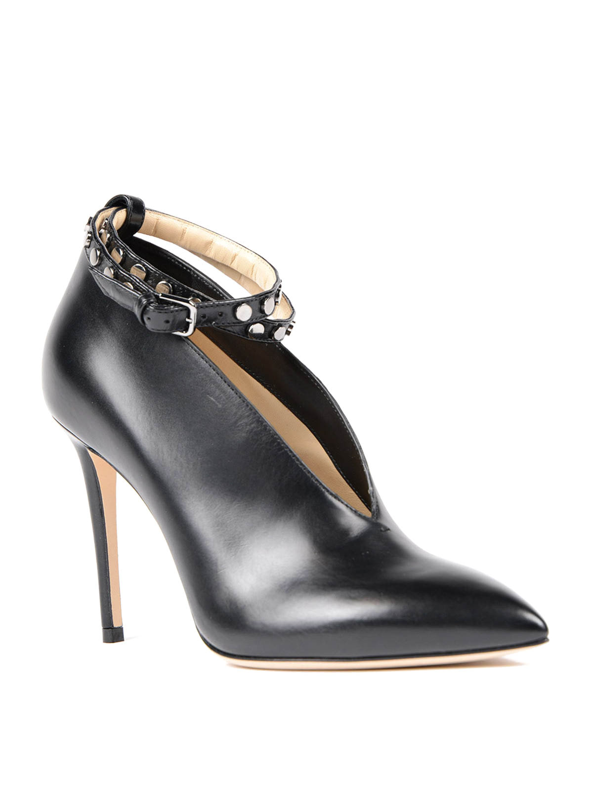 Jimmy Choo - Lark booties with strap