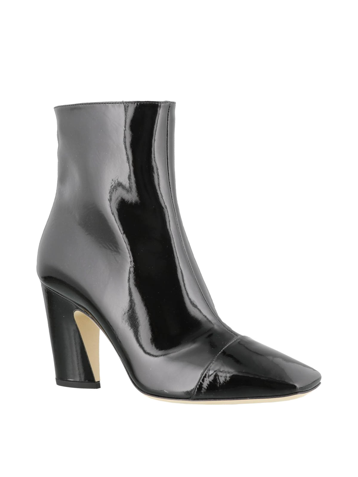 389c4adae26 Jimmy Choo - Mirren black patent leather booties - ankle boots ...
