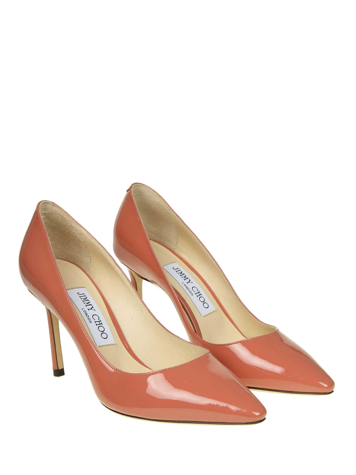 99d4747cd159 JIMMY CHOO  court shoes online - Romy pink patent leather high pumps