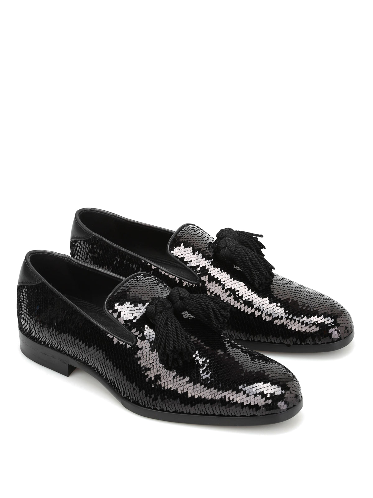 Jimmy Choo - Foxley sequined leather