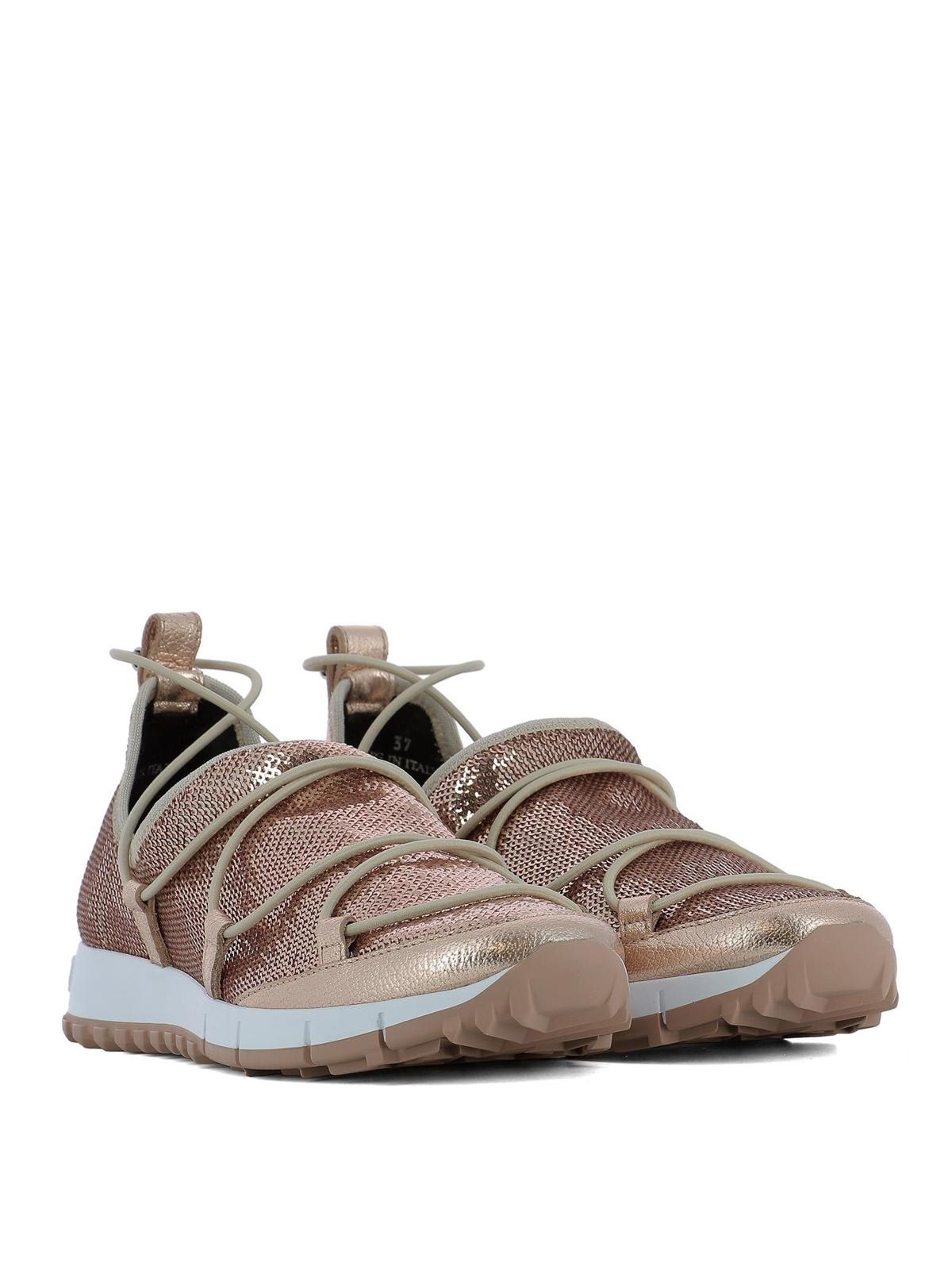 Jimmy Choo - Andrea sequin sneakers