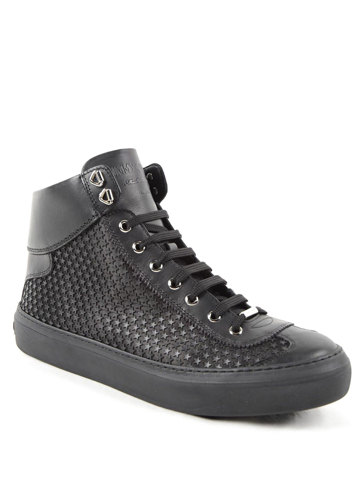 0fbf0871357b19 Jimmy Choo - Argyle hi top leather sneakers - trainers - ARGYLE AMR ...
