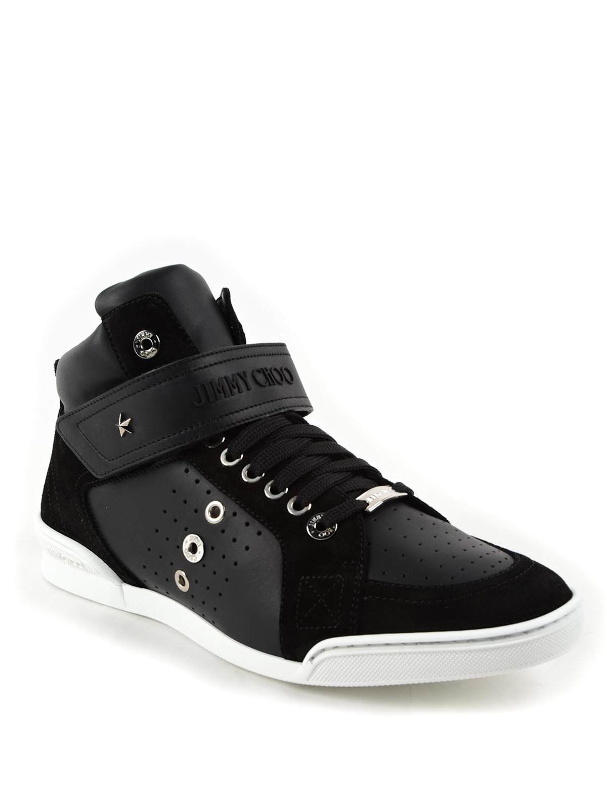 Jimmy Choo Sneakers Lewis Noir