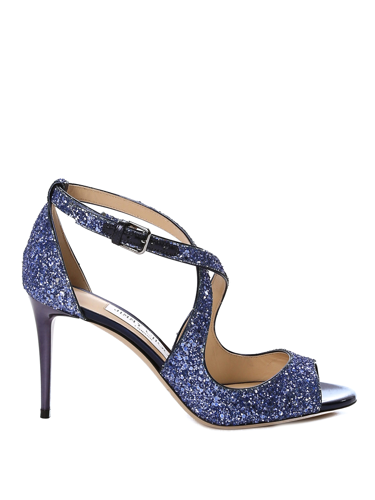 Emily 85 glittered sandals by Jimmy Choo - sandals  42fb2cb5670