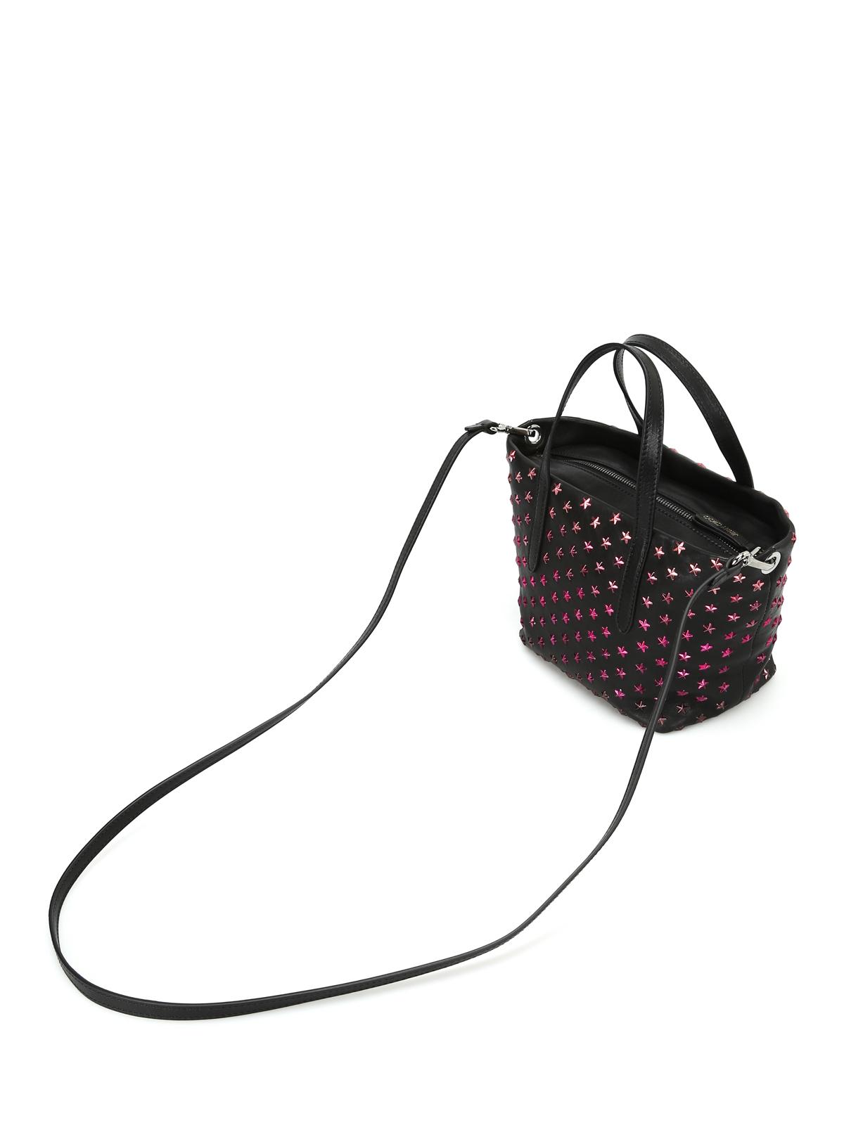 ba11d700412 Jimmy Choo - Mini Sara tote with fuchsia stars - totes bags ...