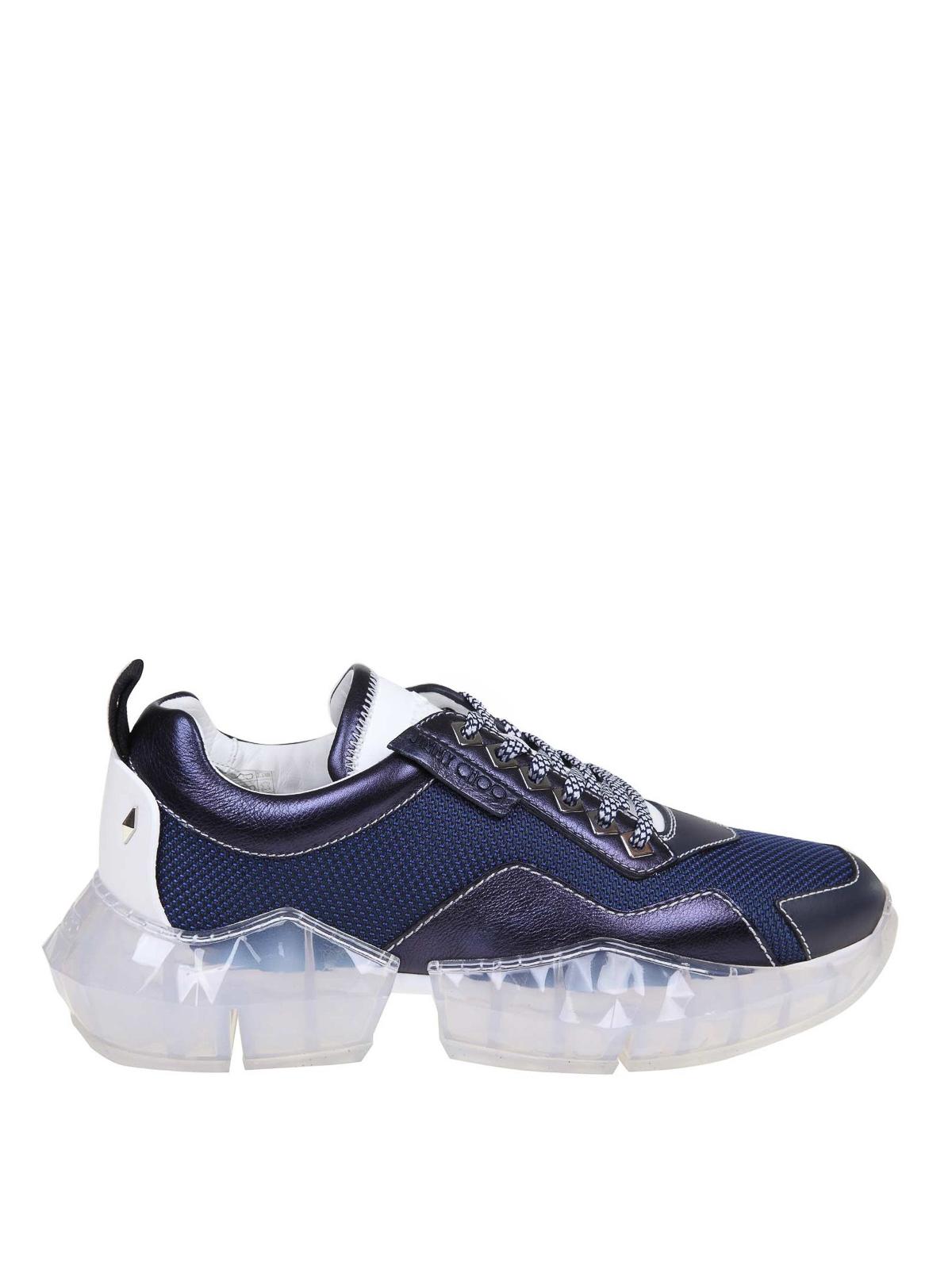 Jimmy Choo - Diamond blue sneakers