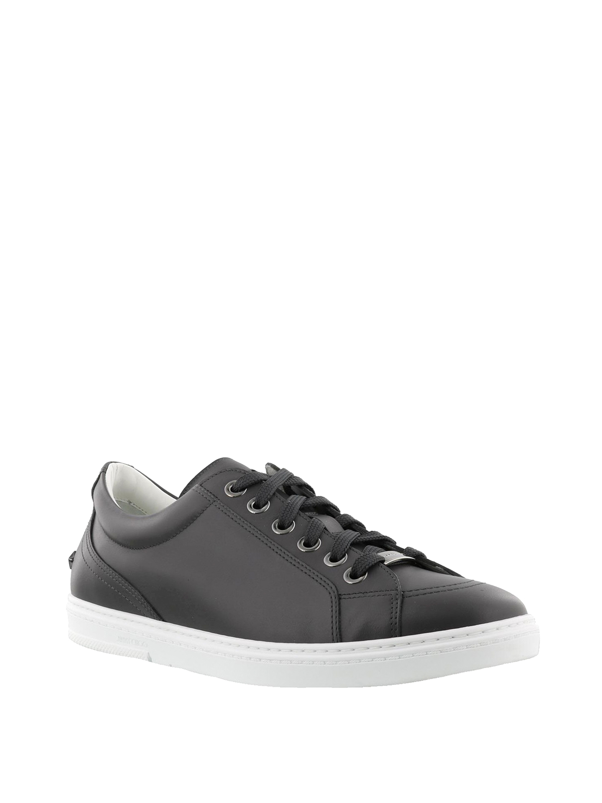 Jimmy choo Leather Cash Sneakers YnmTvAx