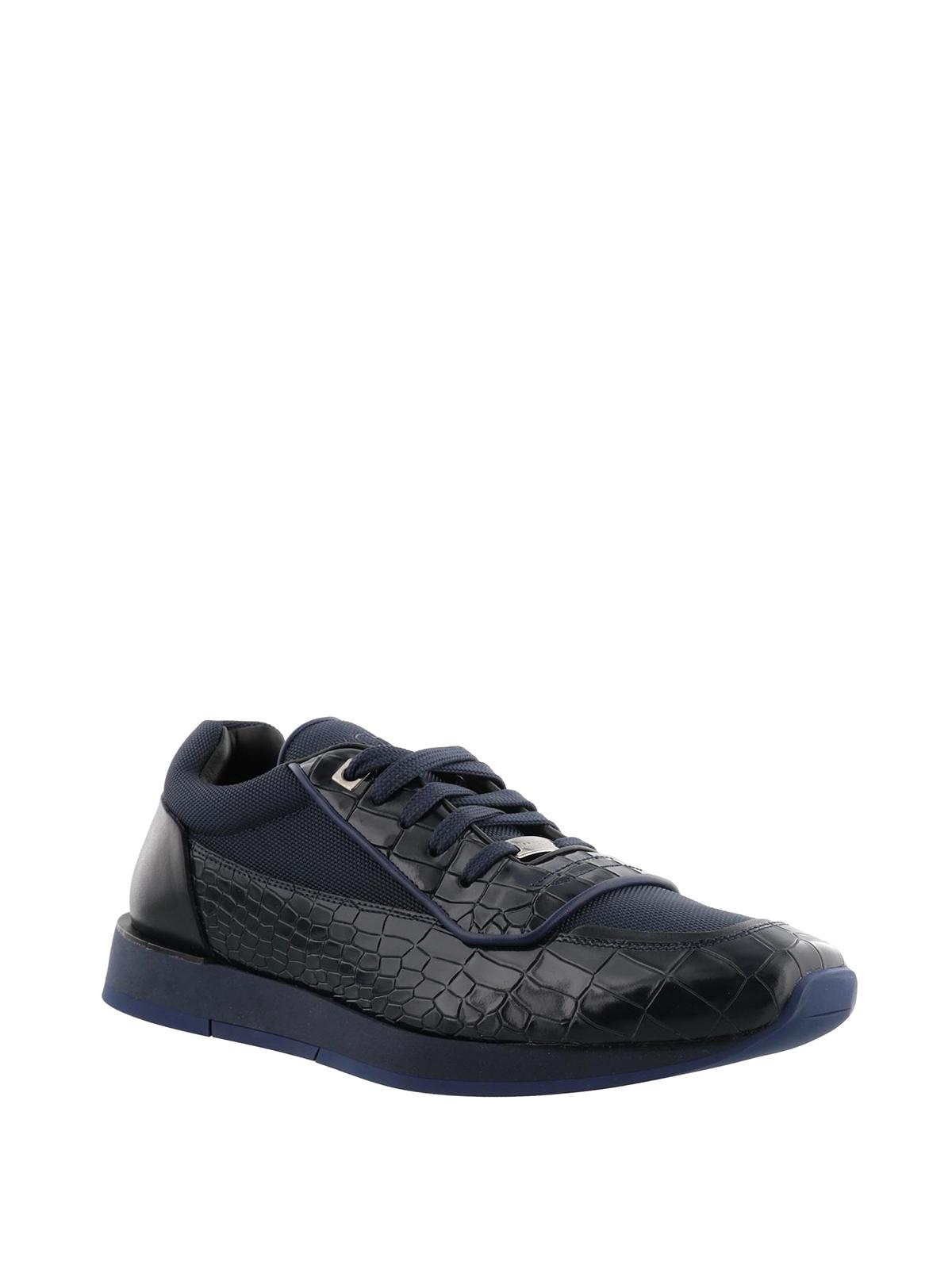 Jimmy Choo Chaussures De Sport - Bleu De Jett 7tpq7pdEcz