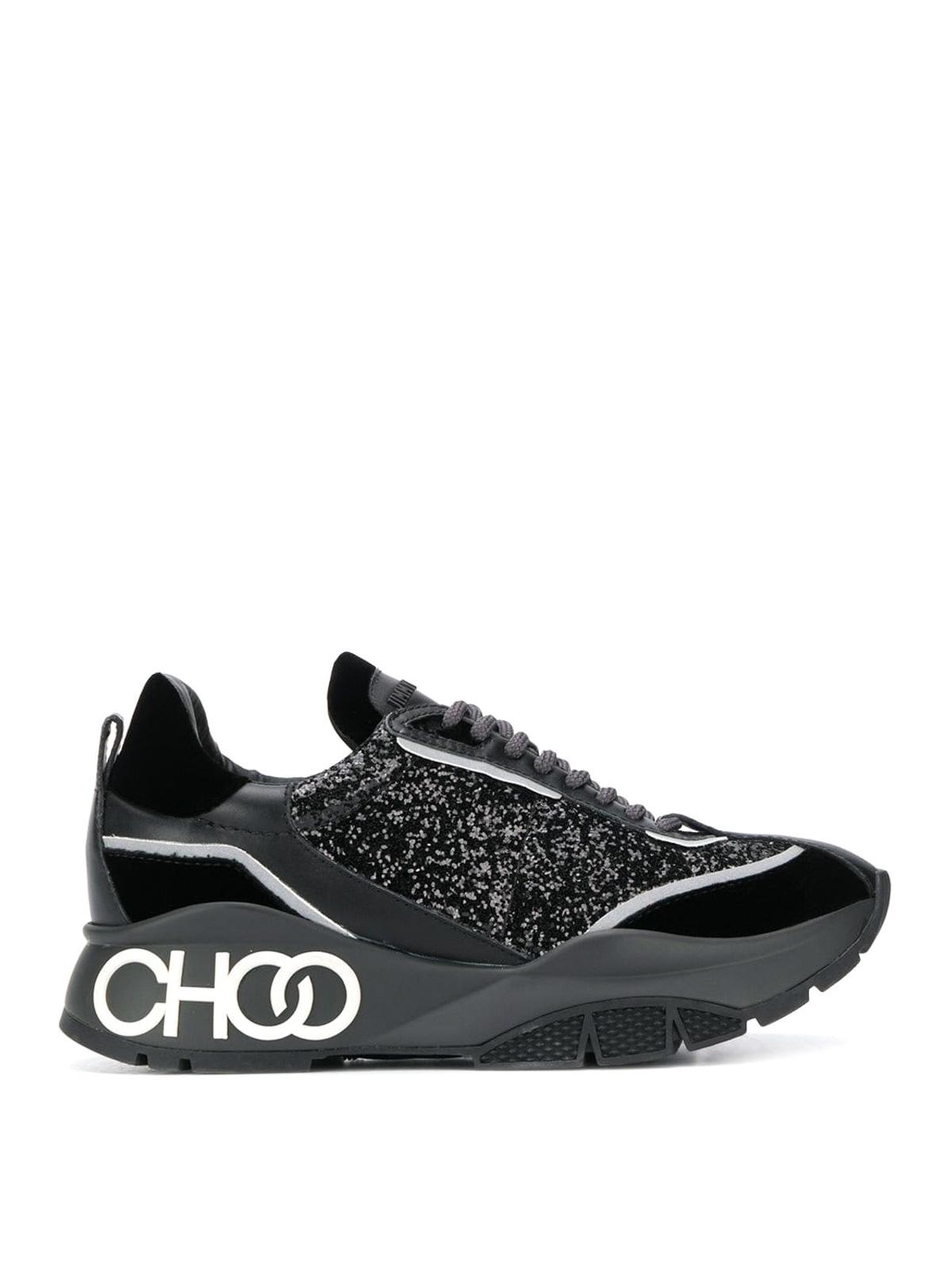 Jimmy Choo - Raine black sneakers