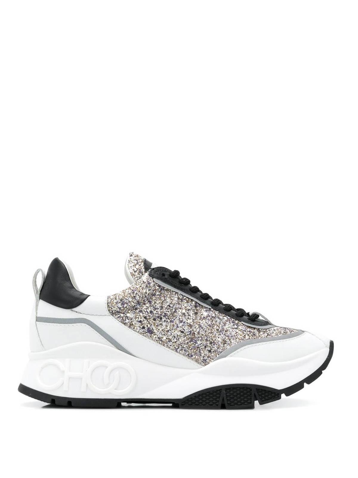 Jimmy Choo - Raine glitter sneakers