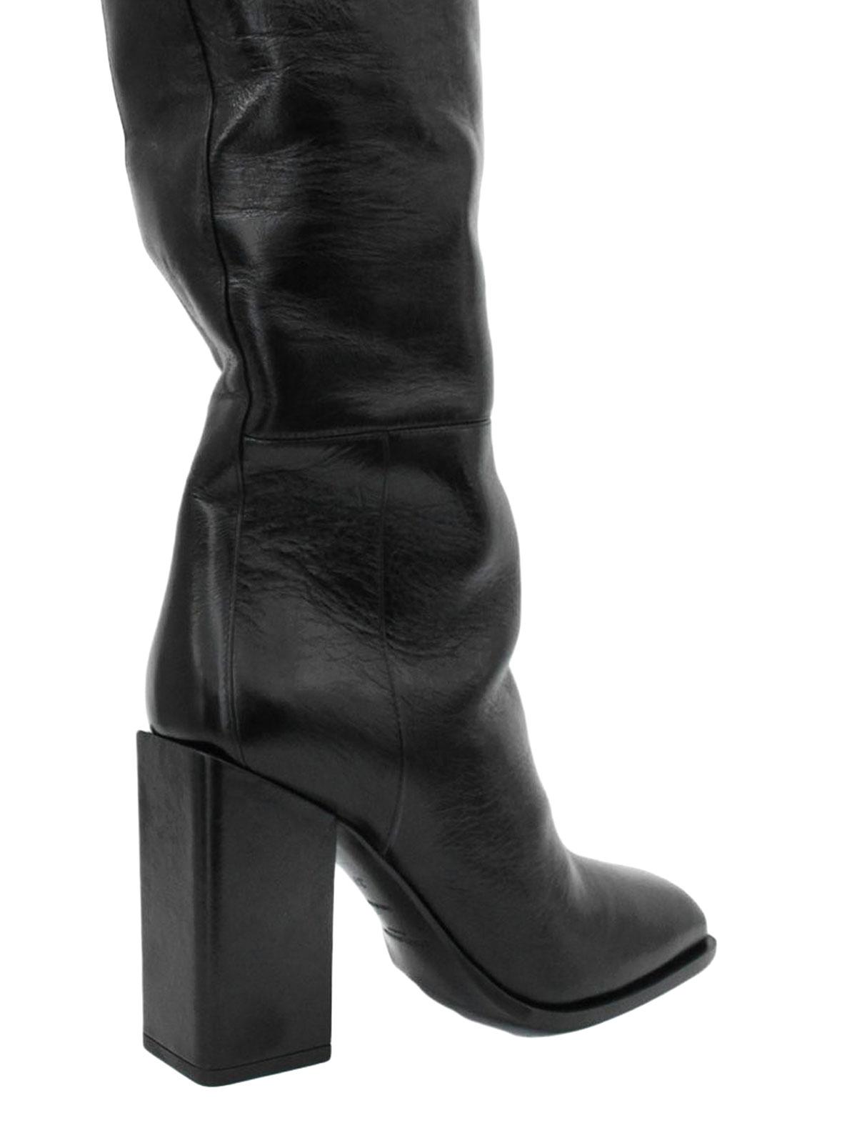 345036450 Saint Laurent - Jodie knee length leather boots - boots ...