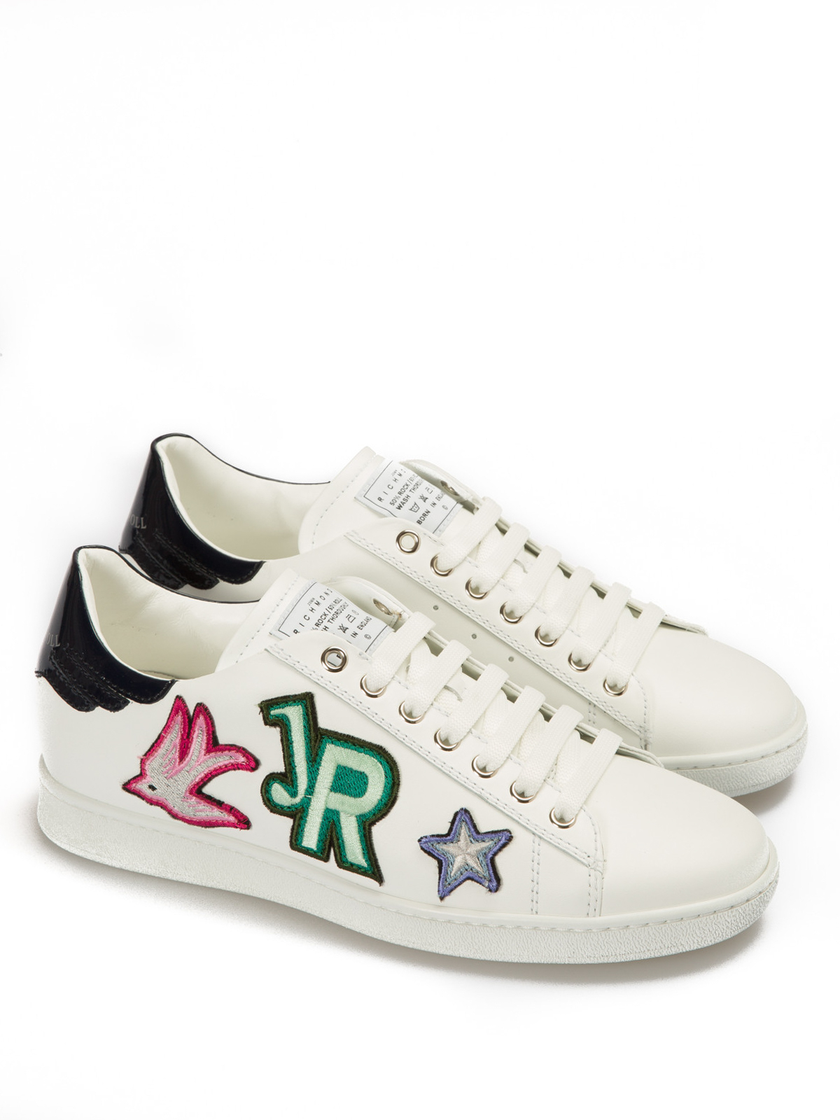 John Richmond Sneaker in pelle Rock'n'roll sneakers