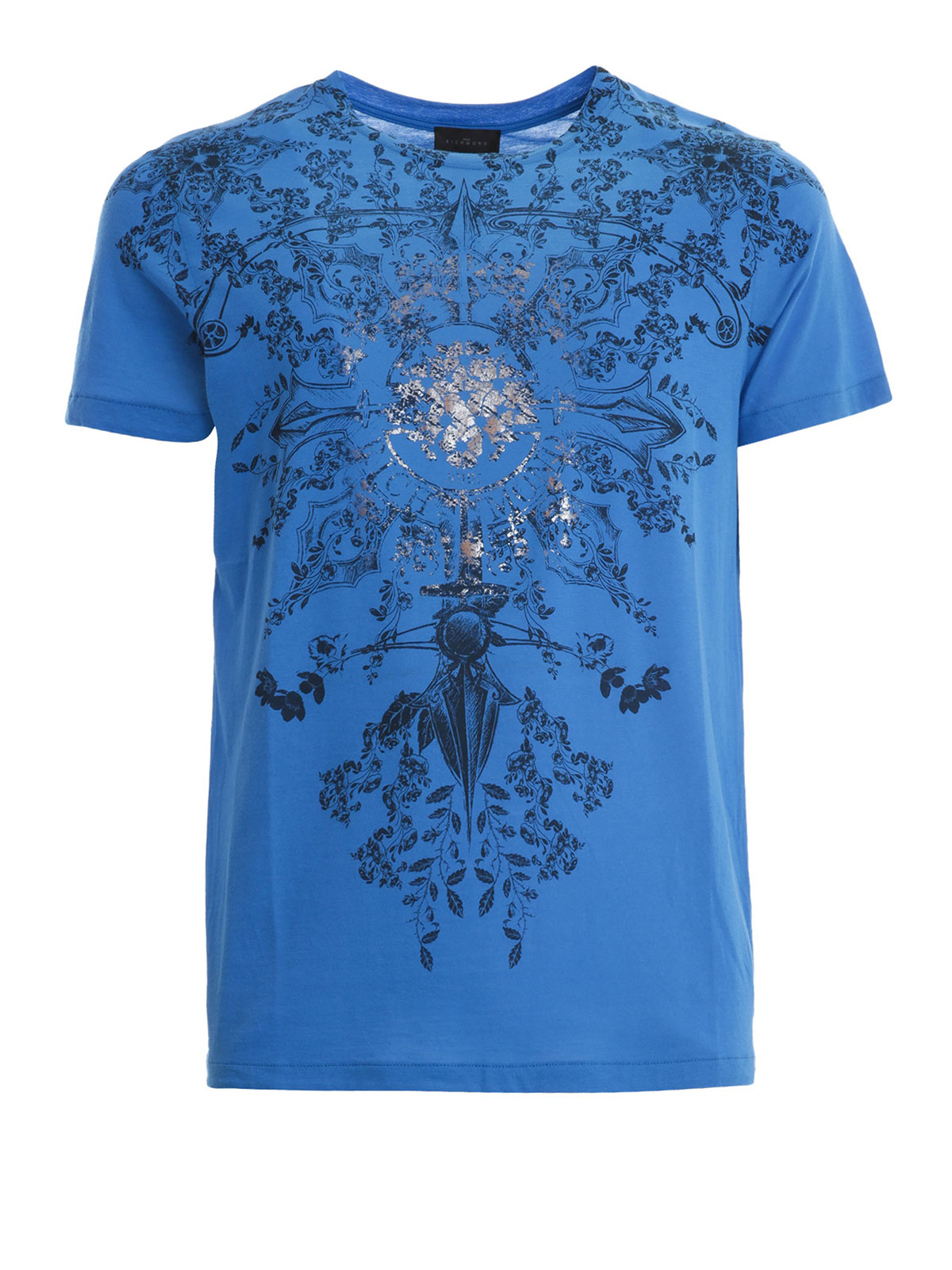 pattern print t shirt by john richmond t shirts ikrix
