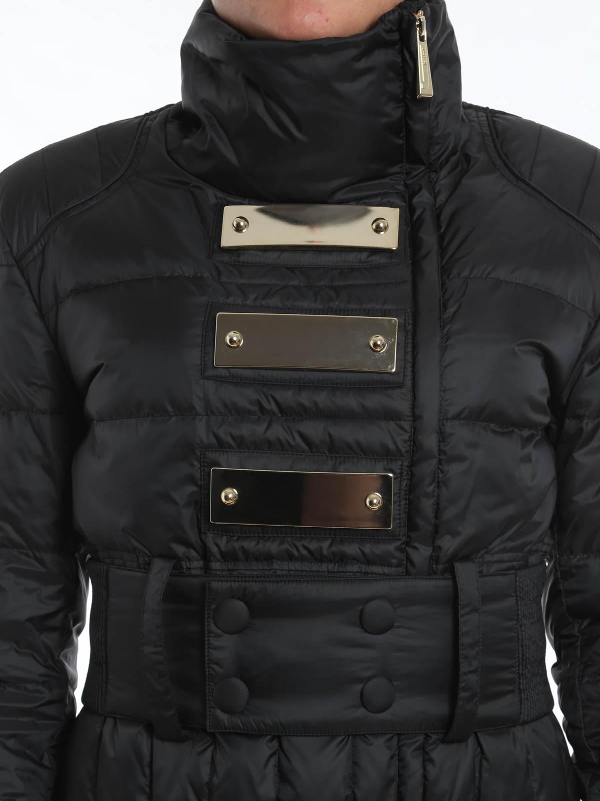 huge selection of 634be a8e66 Just Cavalli - Piumino con applicazioni metallo - giacche ...