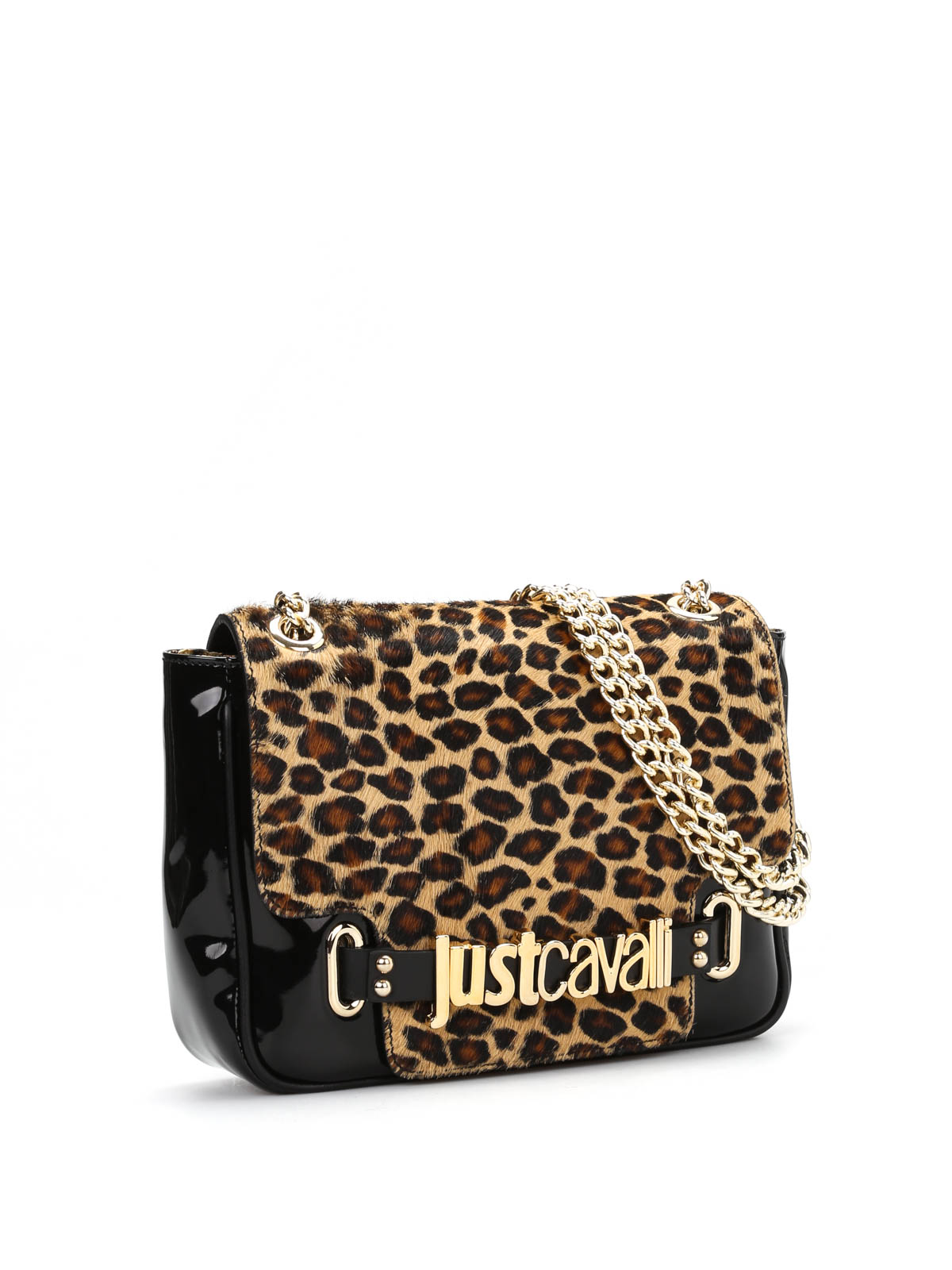 animal print flap cross body bag by just cavalli cross body bags ikrix. Black Bedroom Furniture Sets. Home Design Ideas