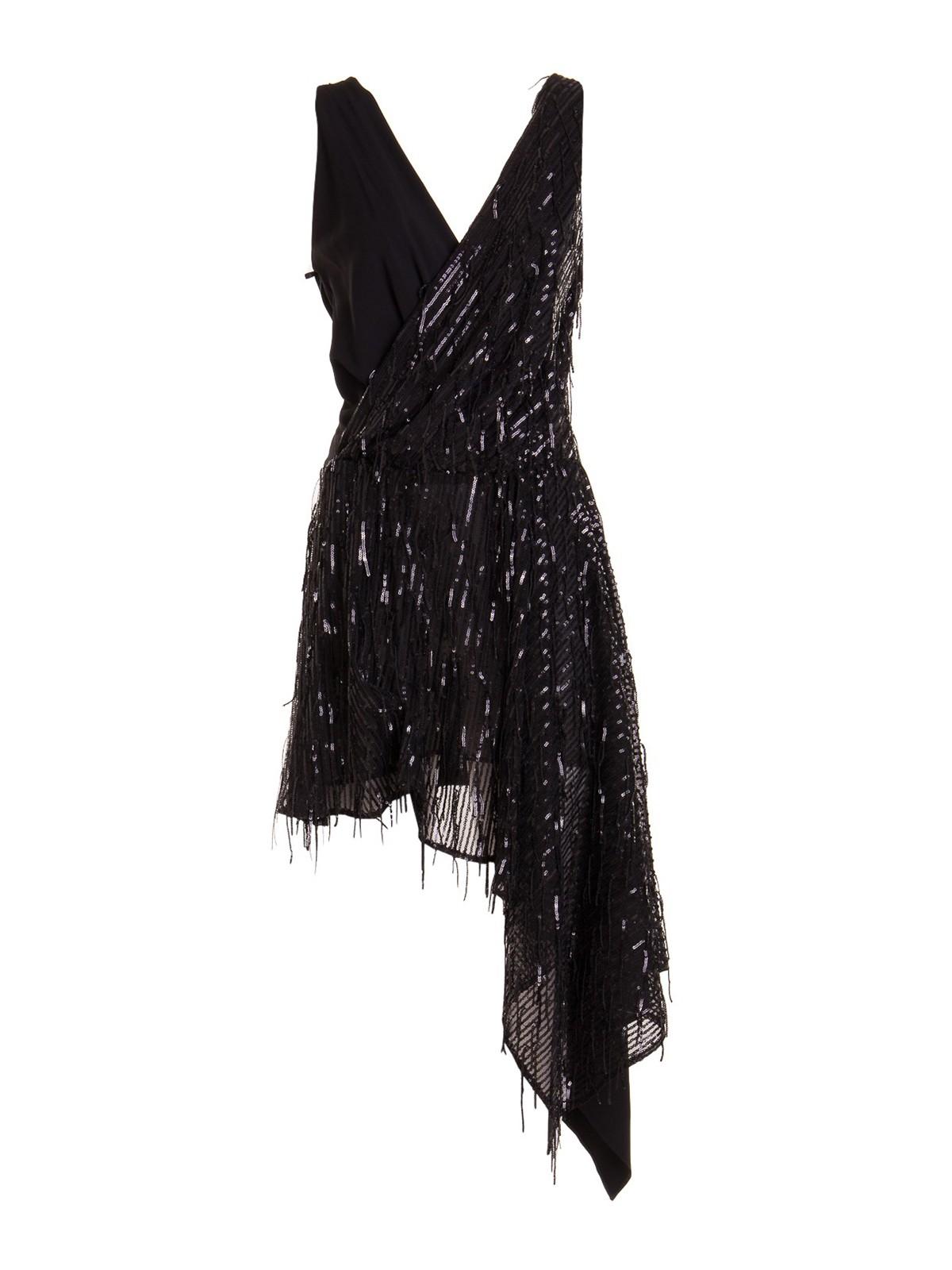 Just Cavalli SEQUINED ASYMMETRIC DRESS
