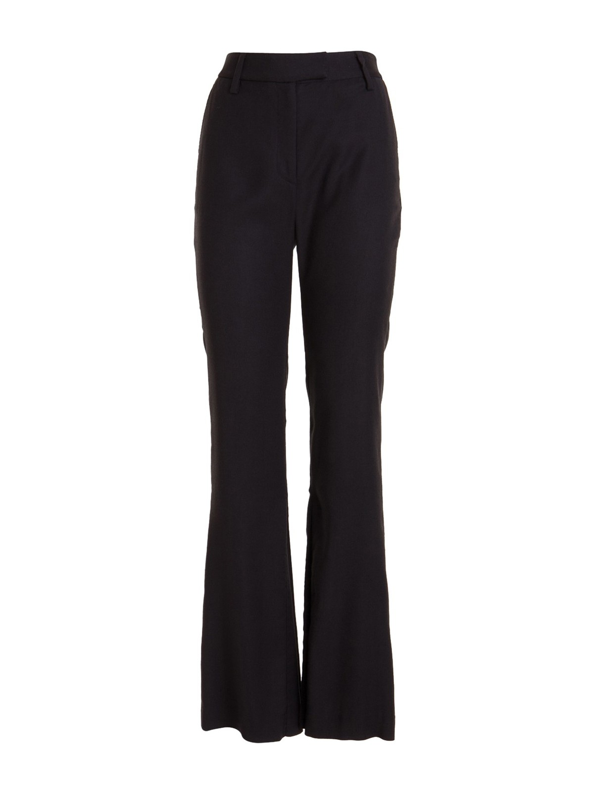 Just Cavalli LOGOED BOTTOM FLARED TROUSERS