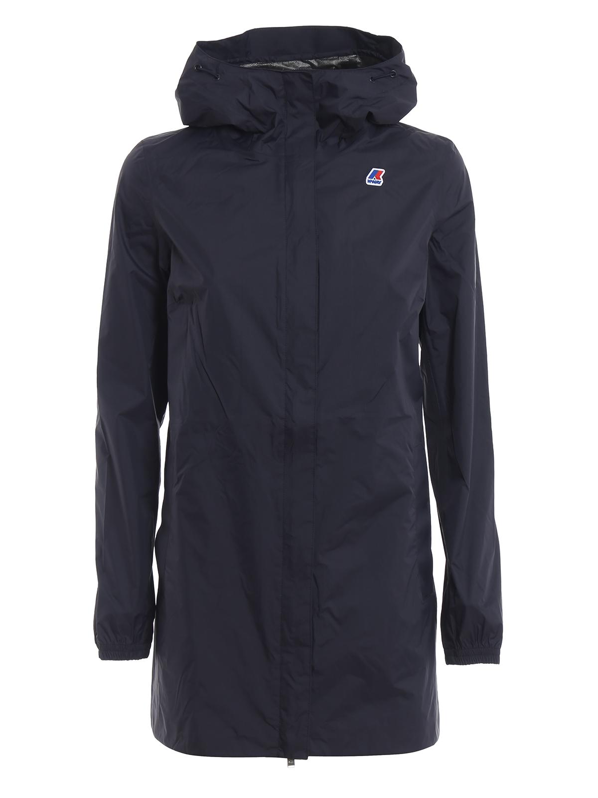 prezzo più basso 777dc 20d70 K-way - Giacca a vento Sophie Plus.Dot blu notte - giacche casual ...