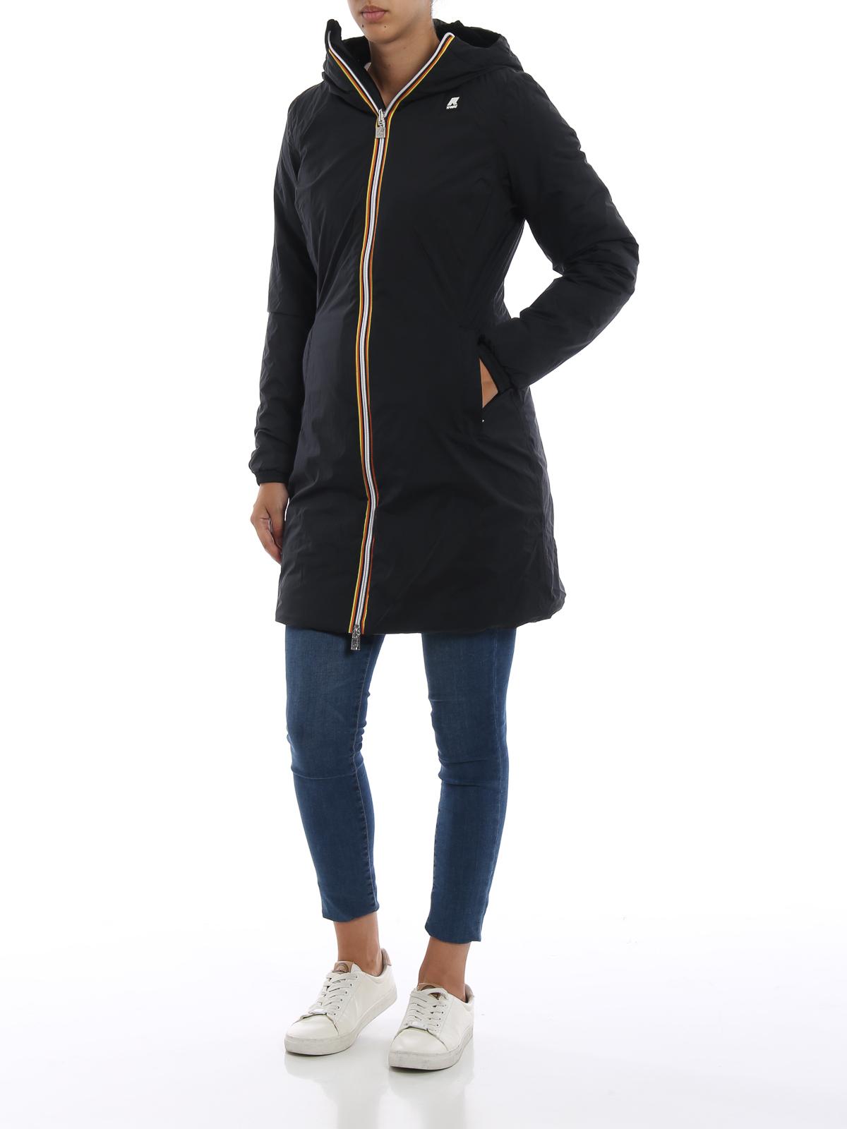 cappotto k way donna in velluto