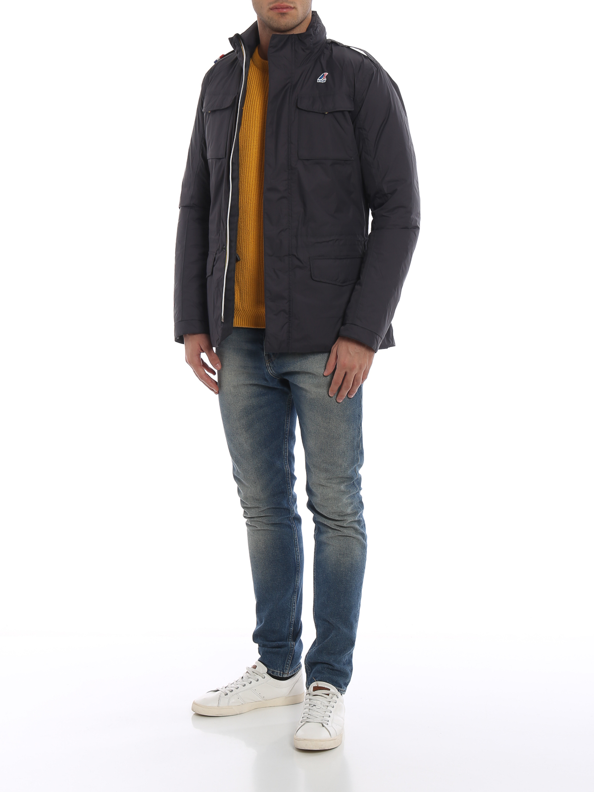 more photos b4c37 fc60f K-way - Manfield Thermo Plus slim fit padded jacket - padded ...