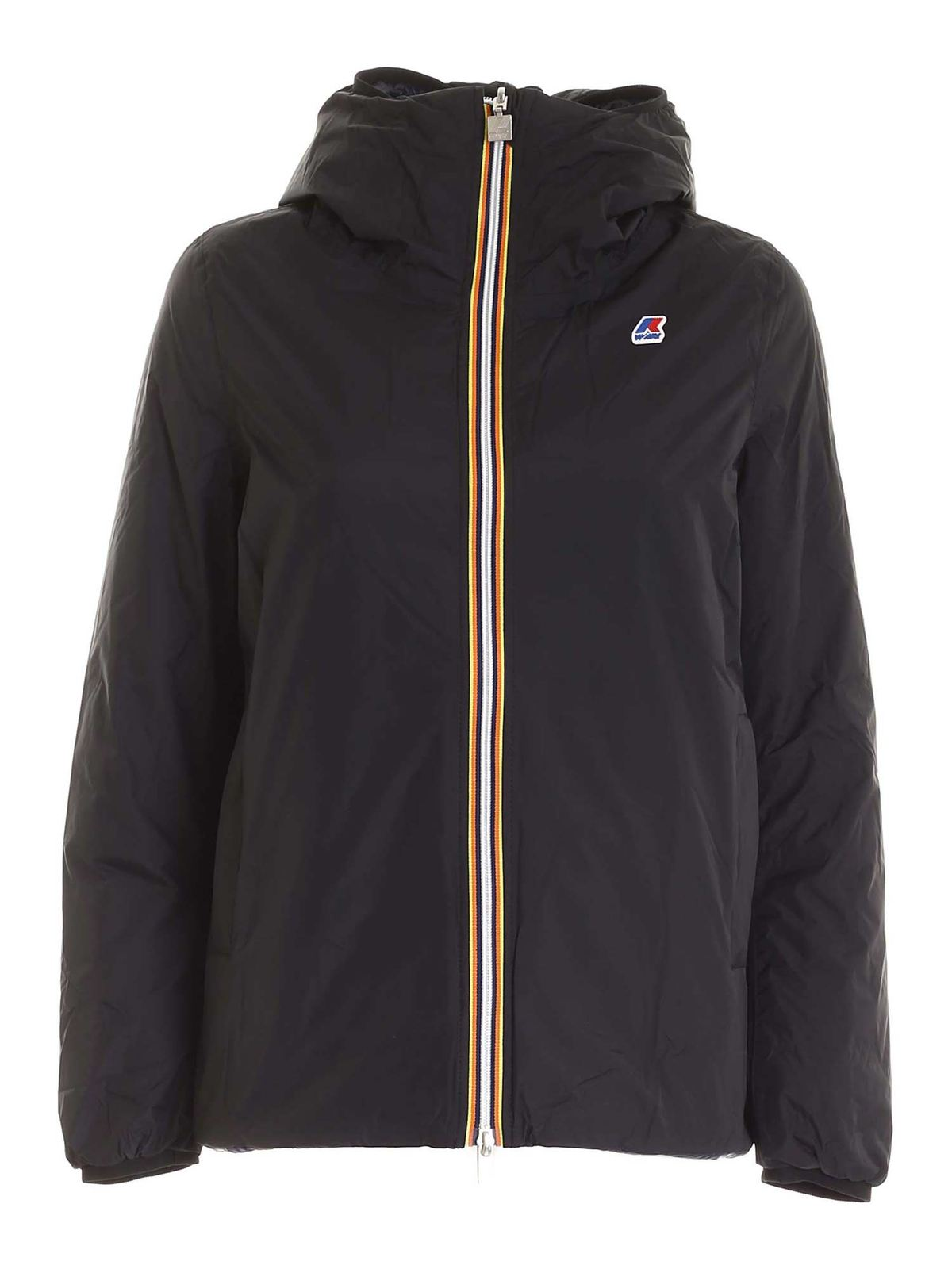 K-Way MARGUERITE THERMO PLUS DOWN JACKET IN BLACK