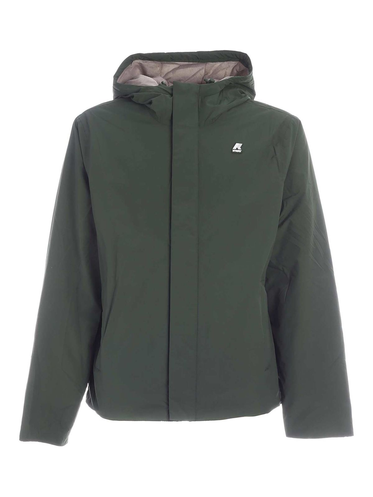 K-Way PADDED JACK RIPSTOP MARMOTTA JACKET